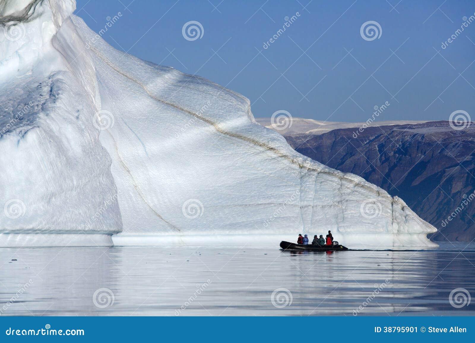 Cementerio del iceberg - Franz Joseph Fjord - Groenlandia