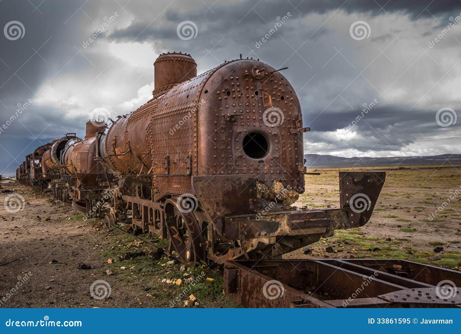 Cementerio del tren, Uyuni, Bolivia