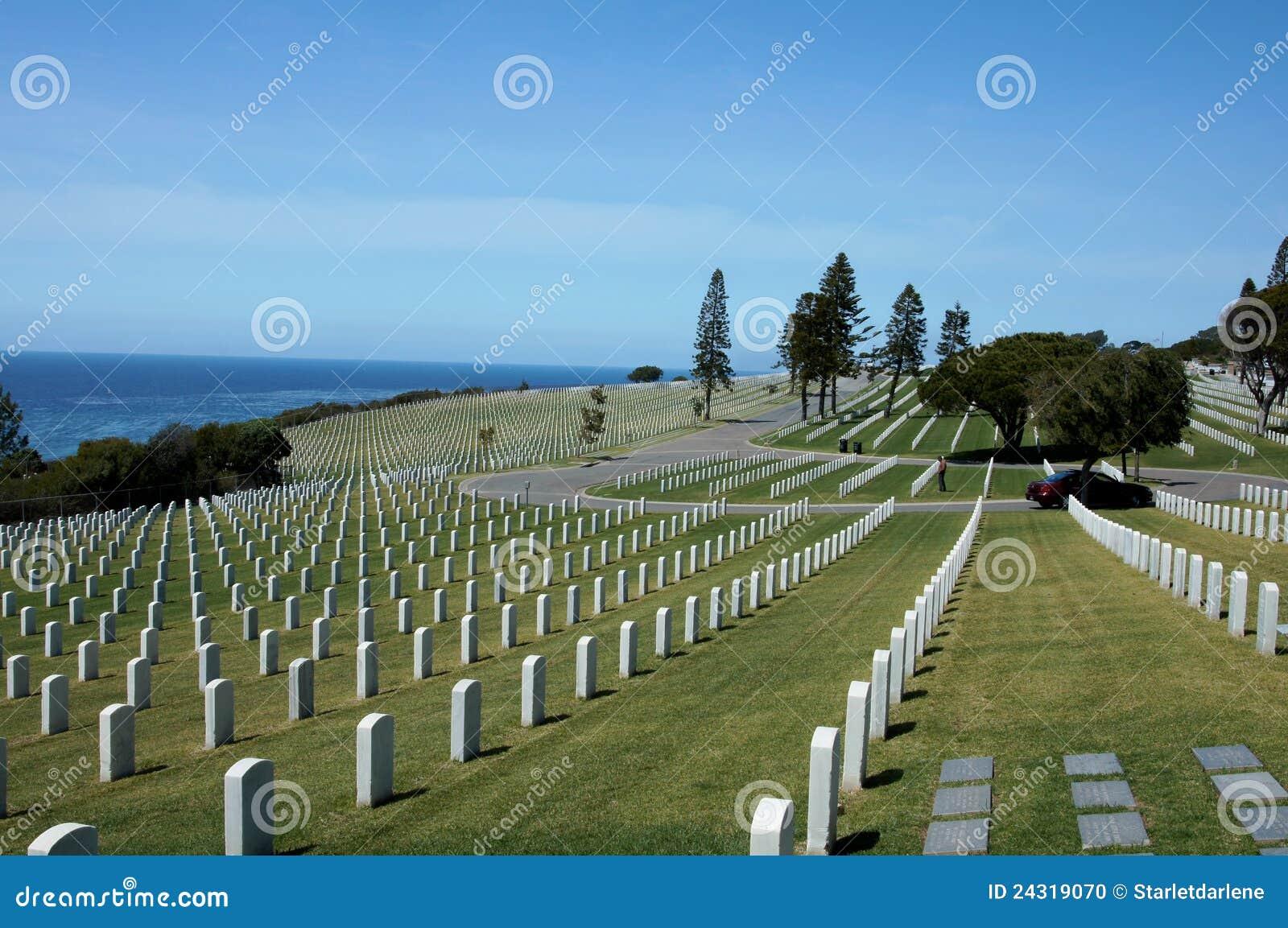 Cementerio nacional de Rosecrans de la fortaleza