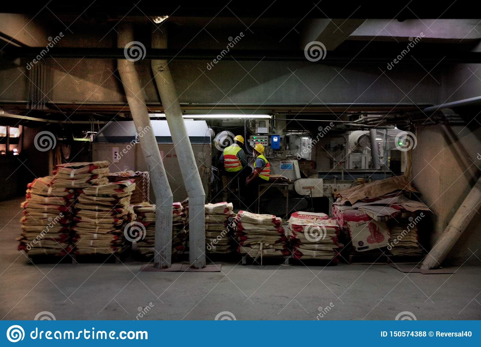 Cementfabriksarbetare