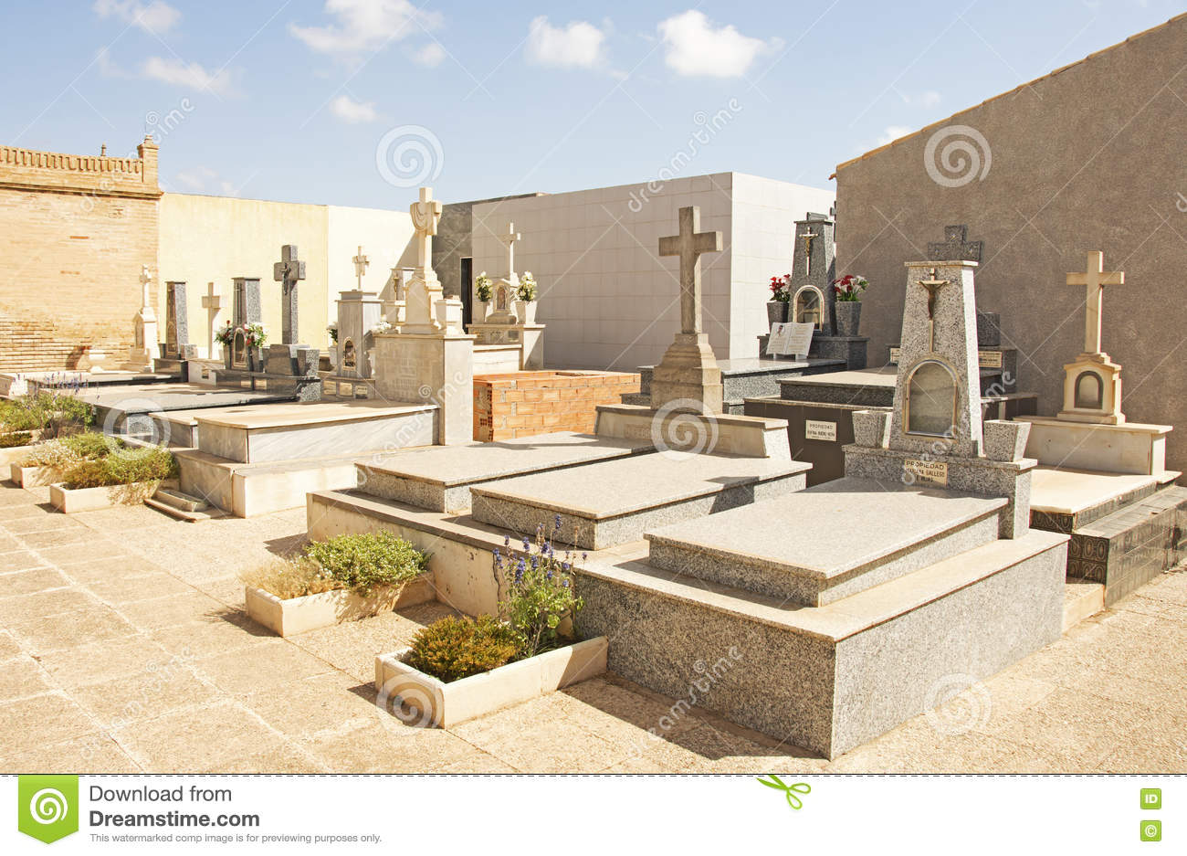 Cemetary in Spain