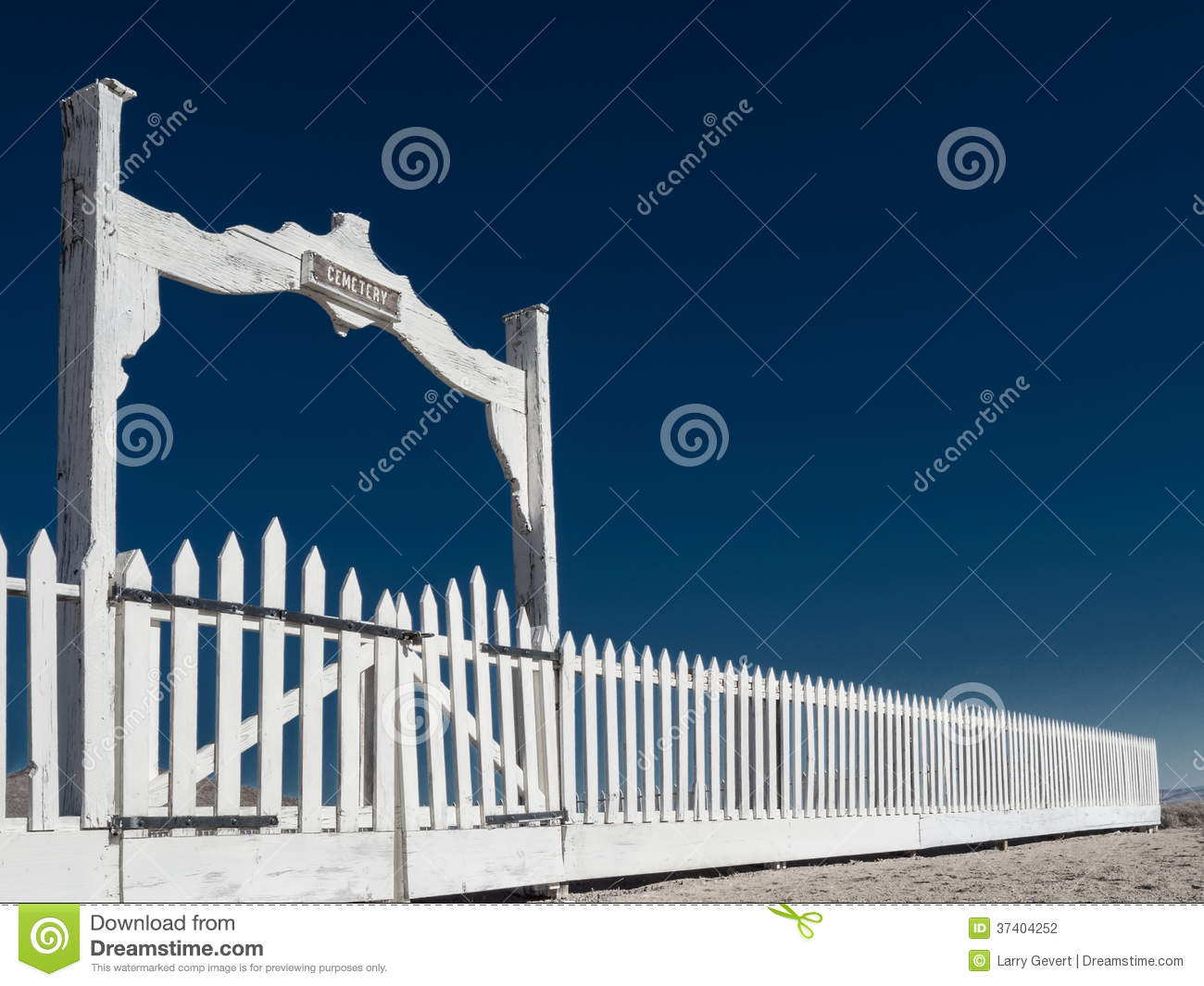 Cemetery fence and gates