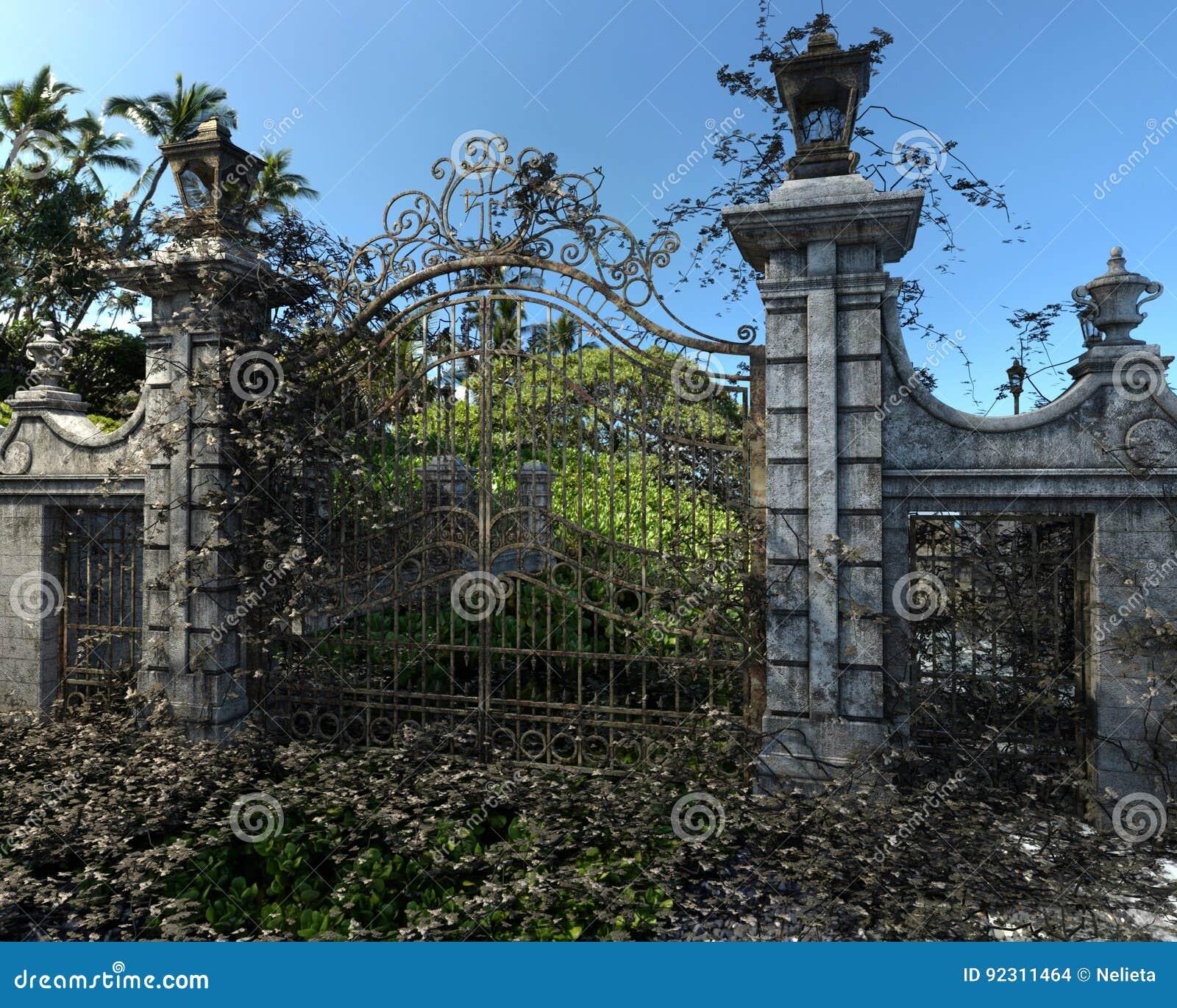 Graveyard Clipart Gate - Gate Clipart - Free Transparent PNG Clipart Images  Download