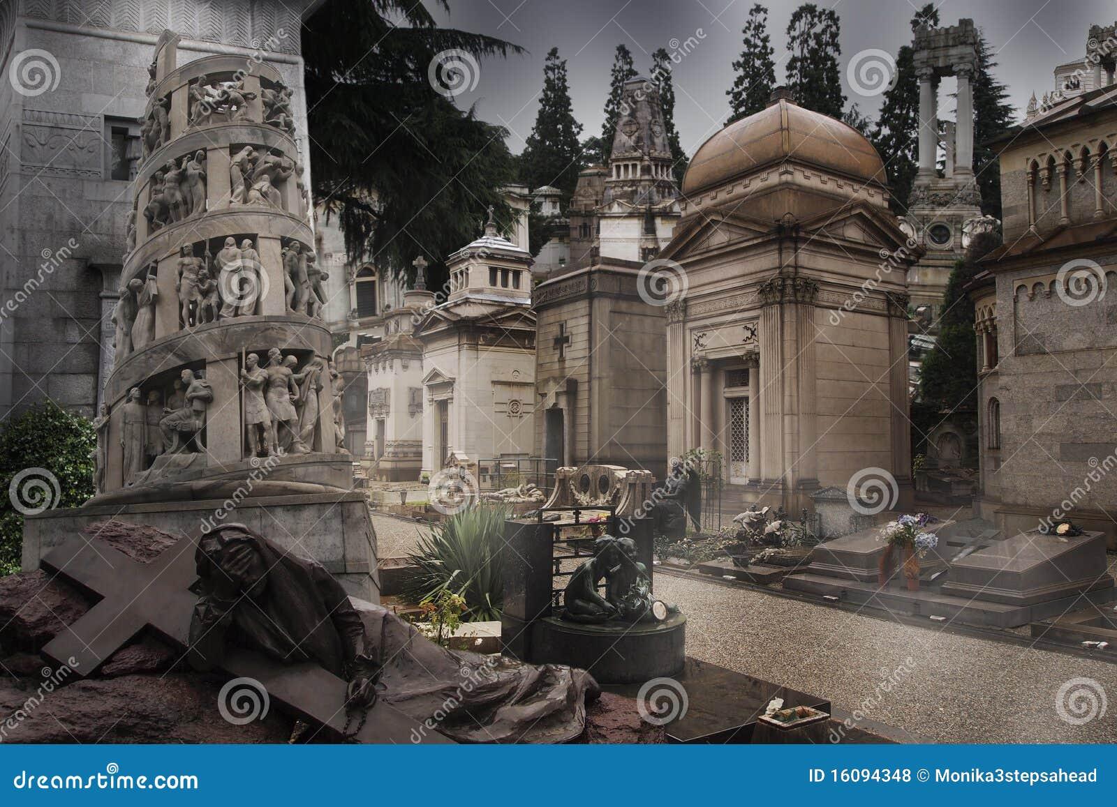 Cemetery - gravestones