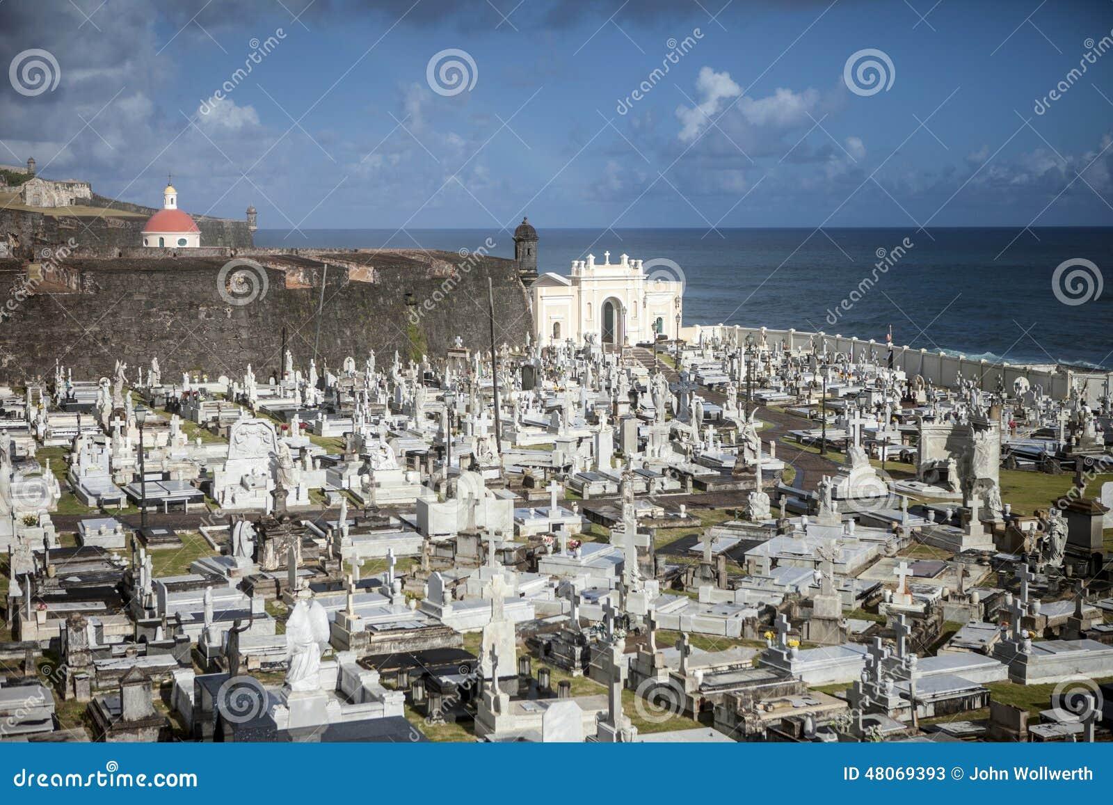 Cemetery in Puerto Rico .. San Juan 58