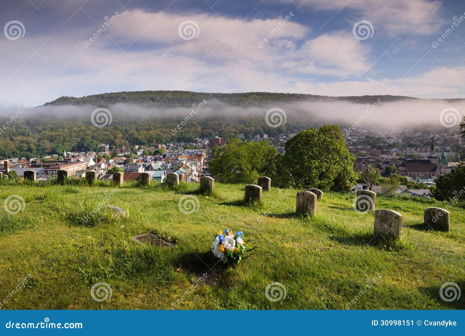 Cemetery Veteran Soldiers Ring Pennsylvania