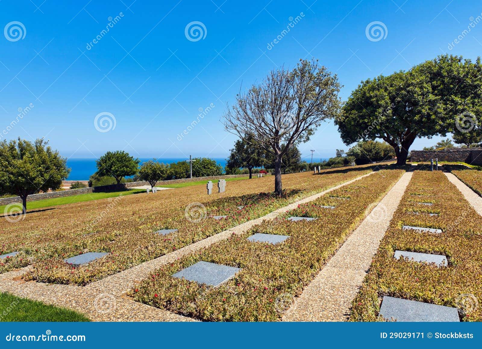 Cemitério alemão, Maleme, Greece