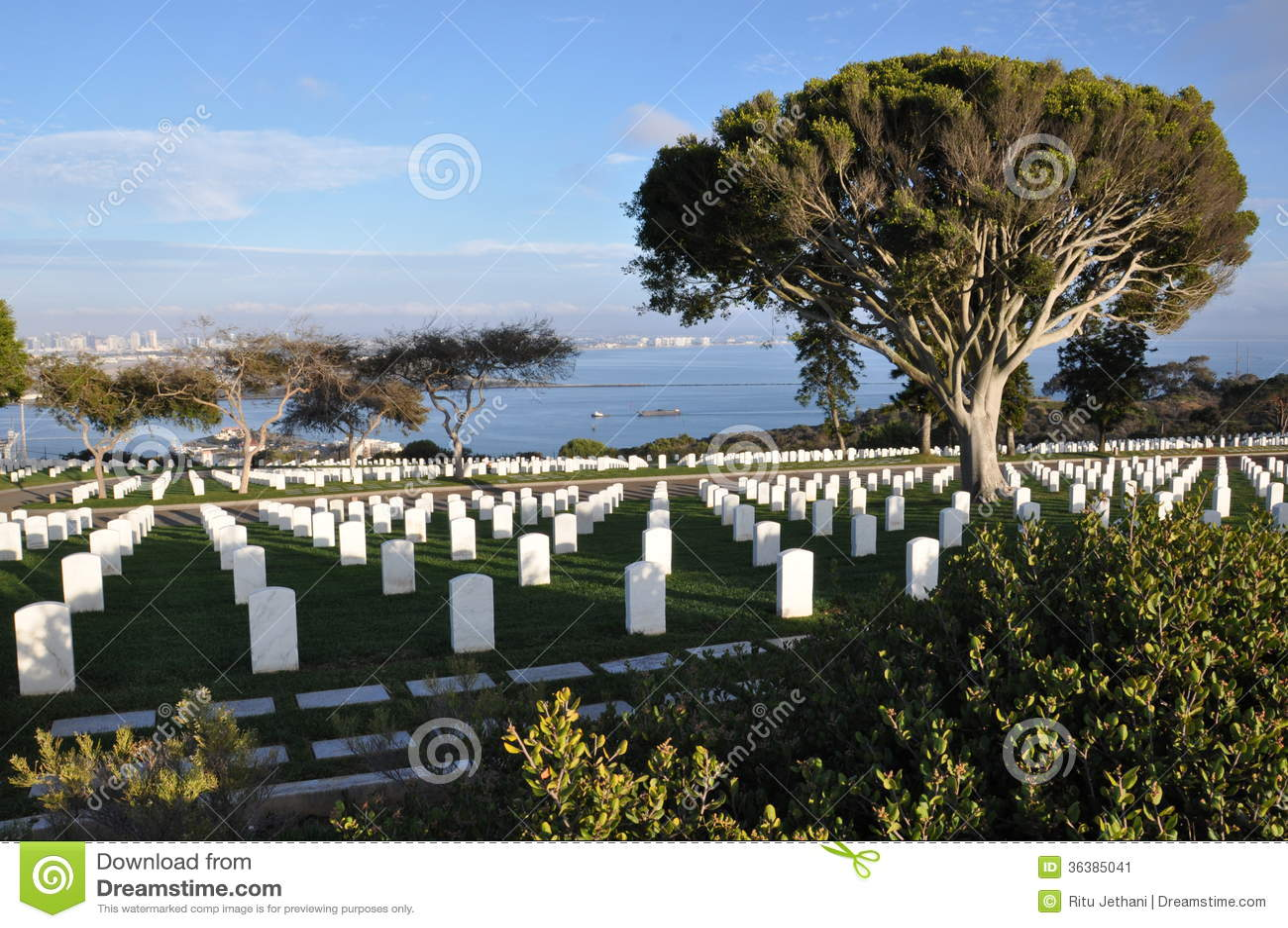 Cemitério militar do Estados Unidos em San Diego, Califórnia