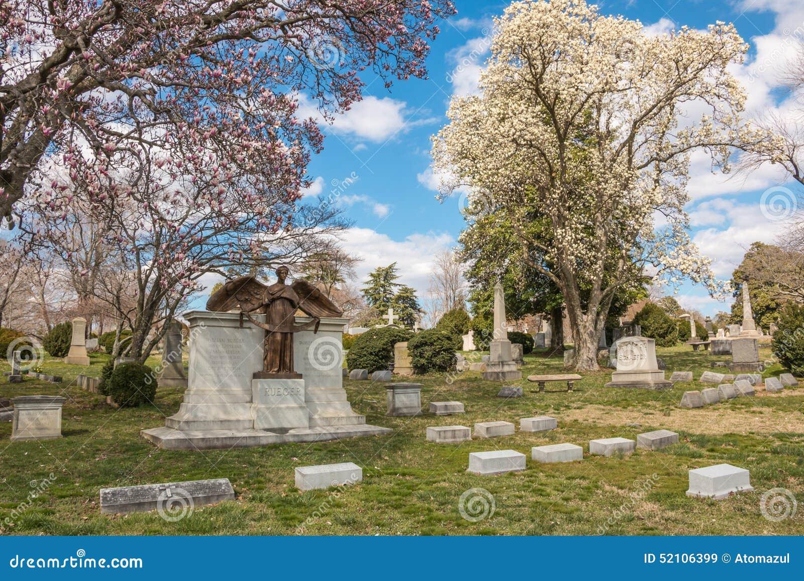 Cemitério Richmond Virginia Spring de Hollywood
