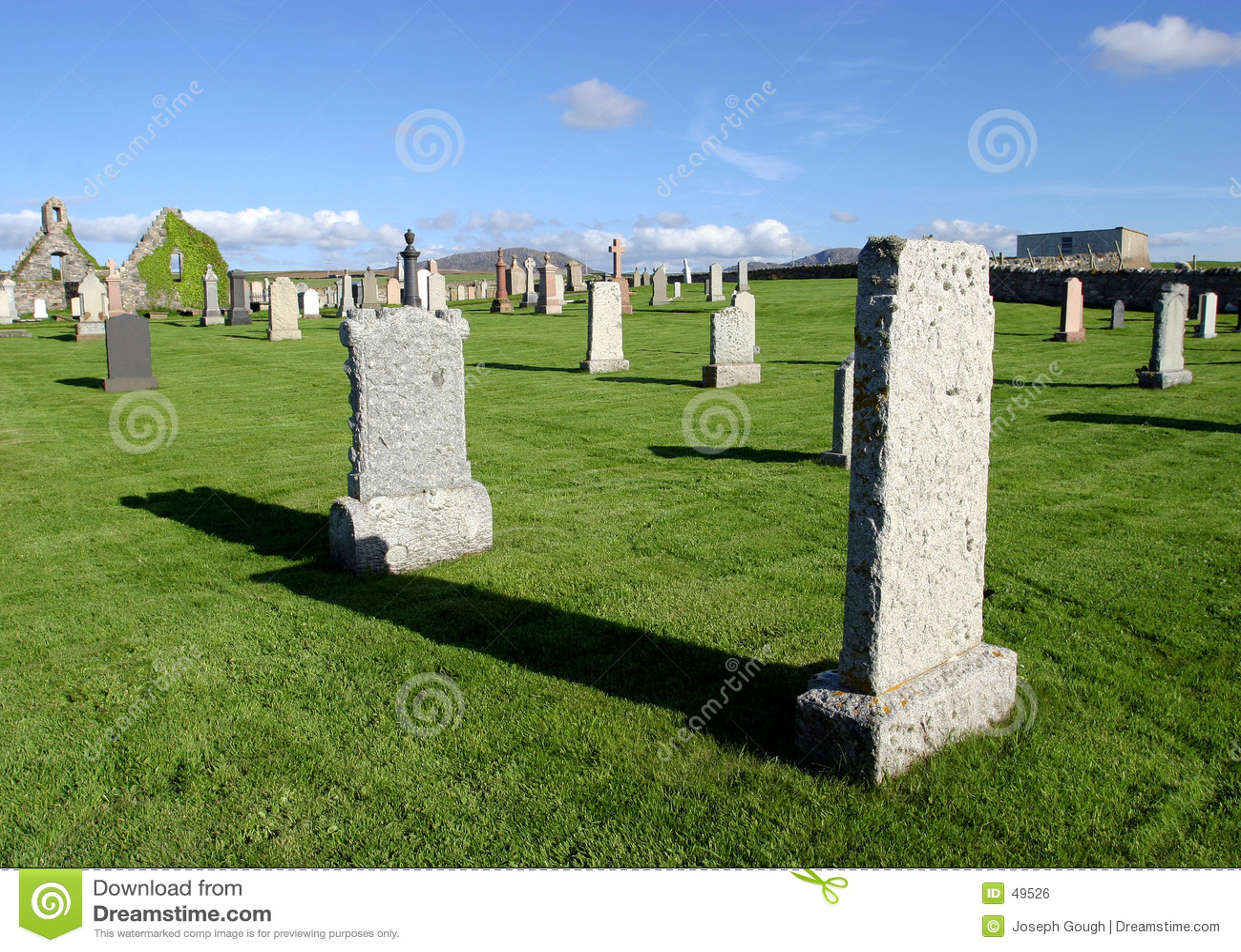 Cemitério, Scotland