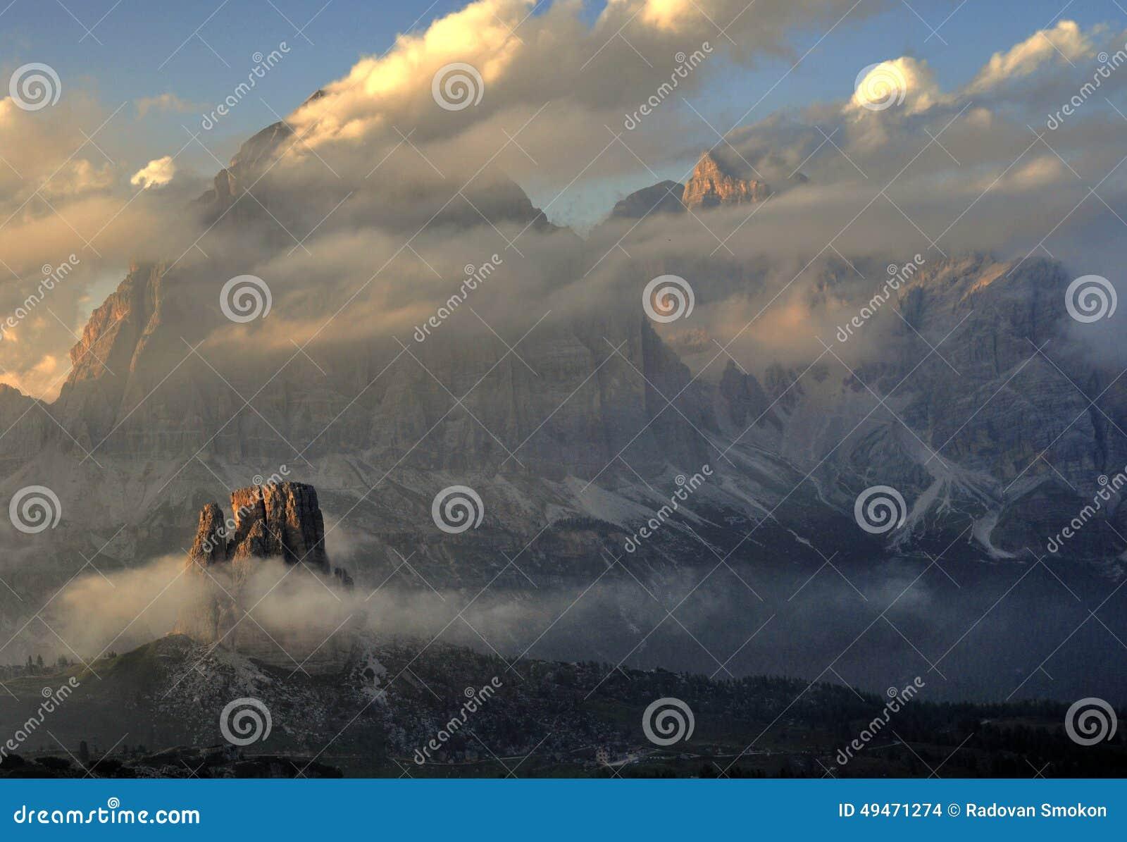 Cenário da montanha