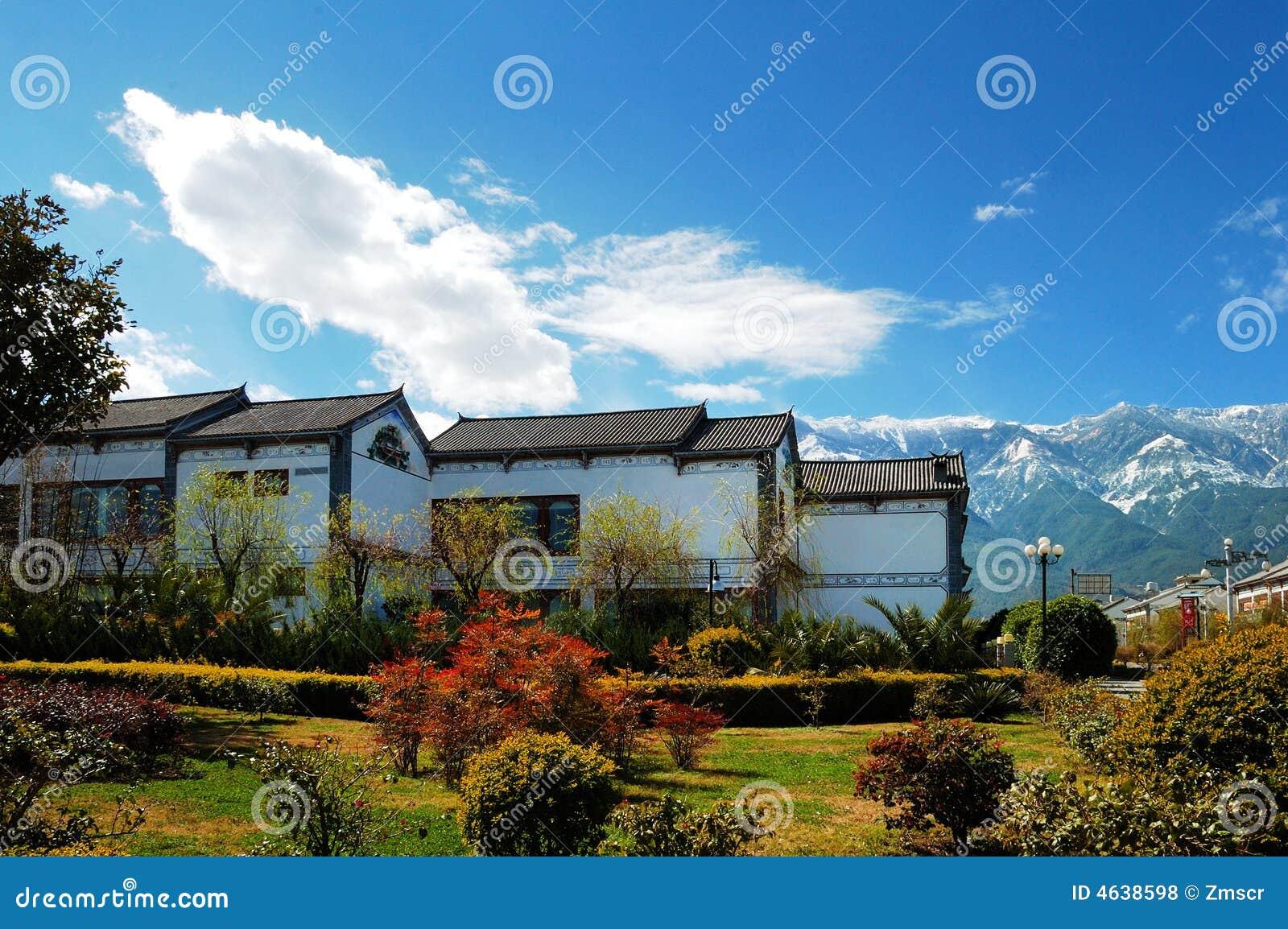 Cenário de Yunnan Dali