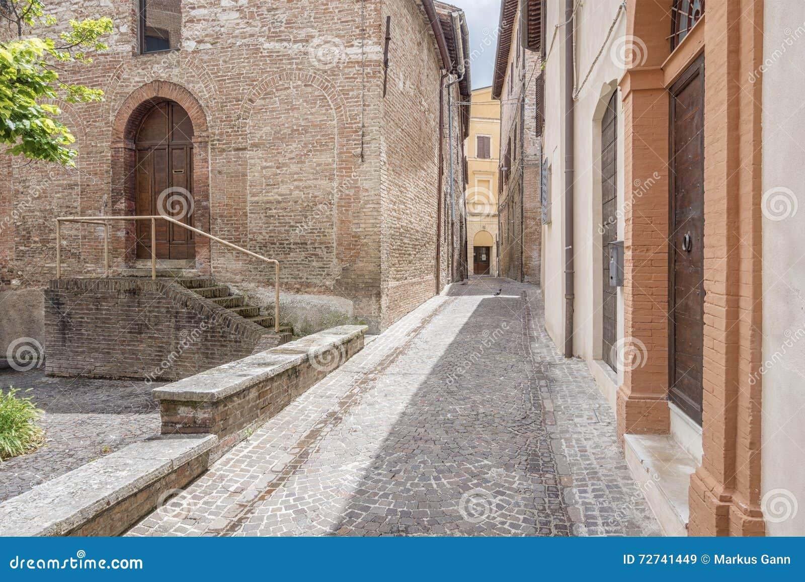 Cenário em Fabriano Itália Marche