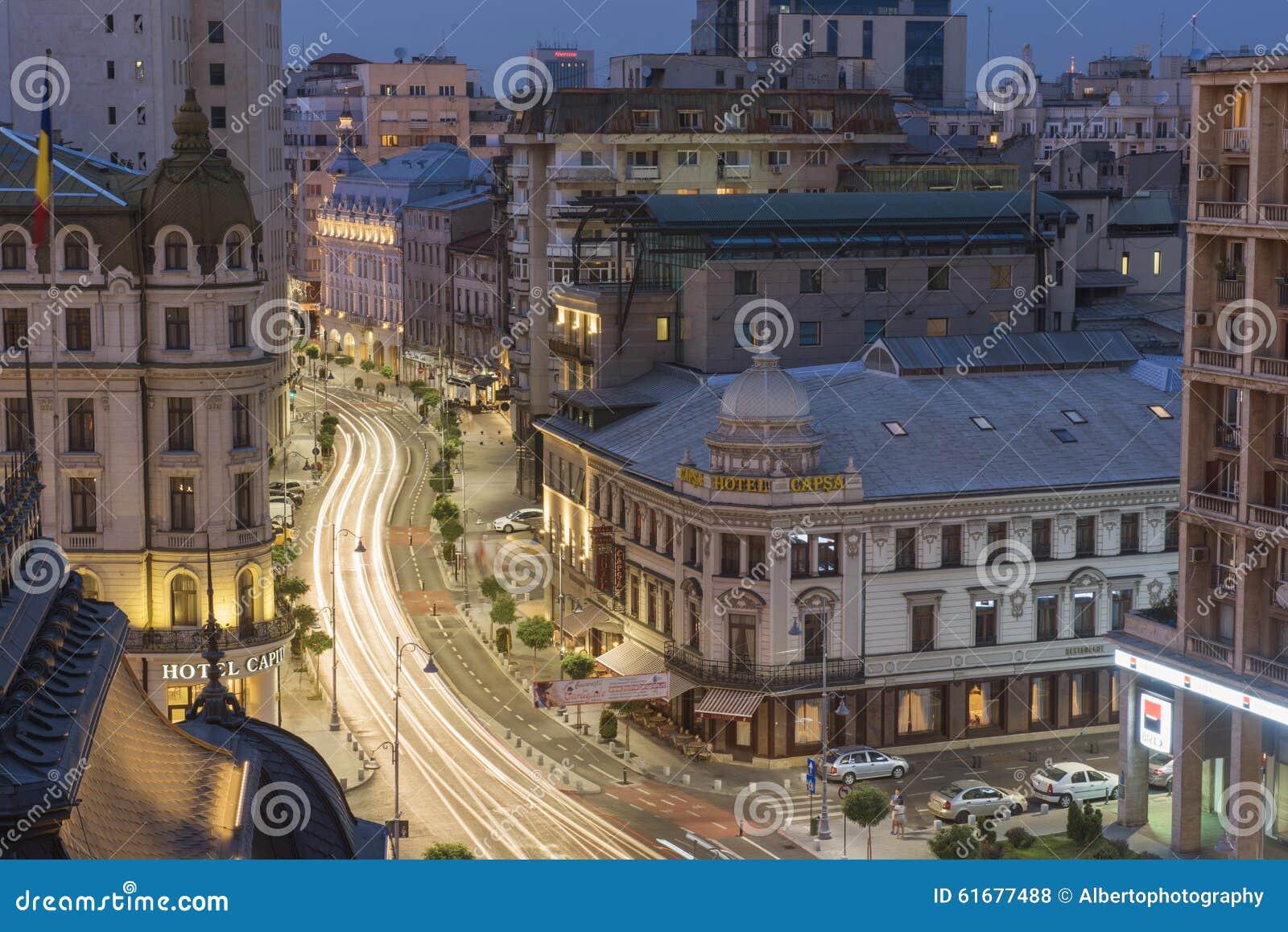 Cena da noite de Bucareste