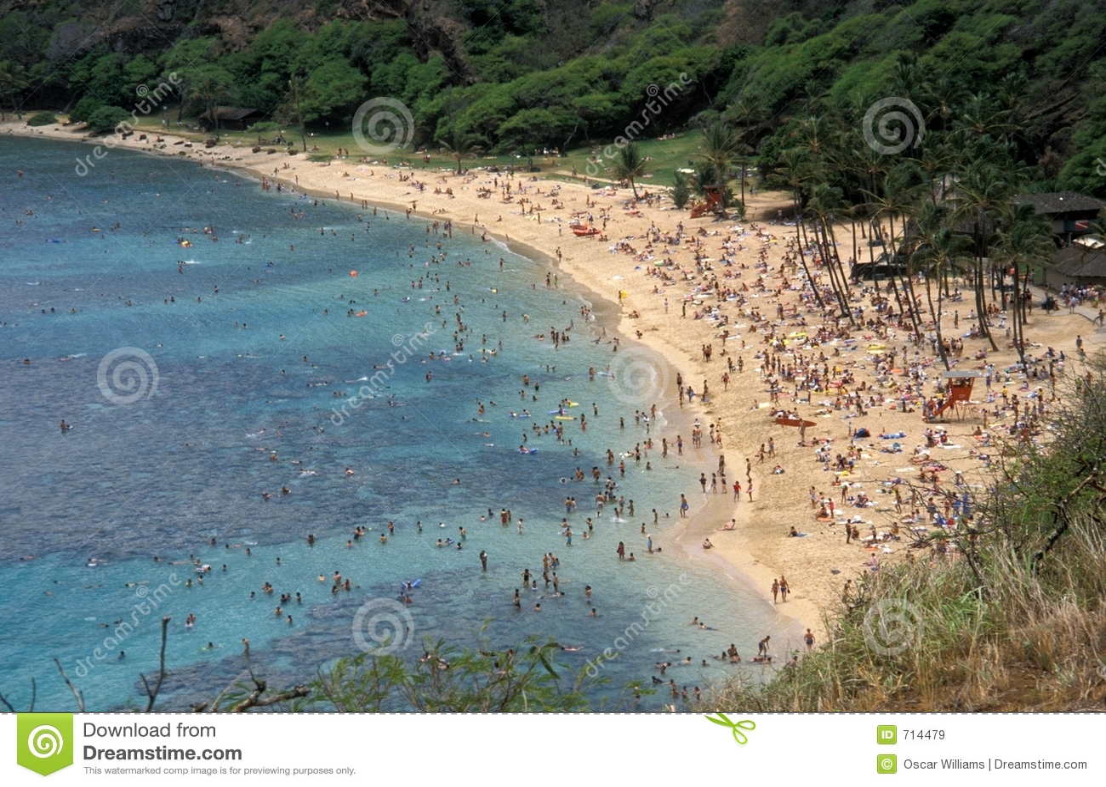 Cena da praia
