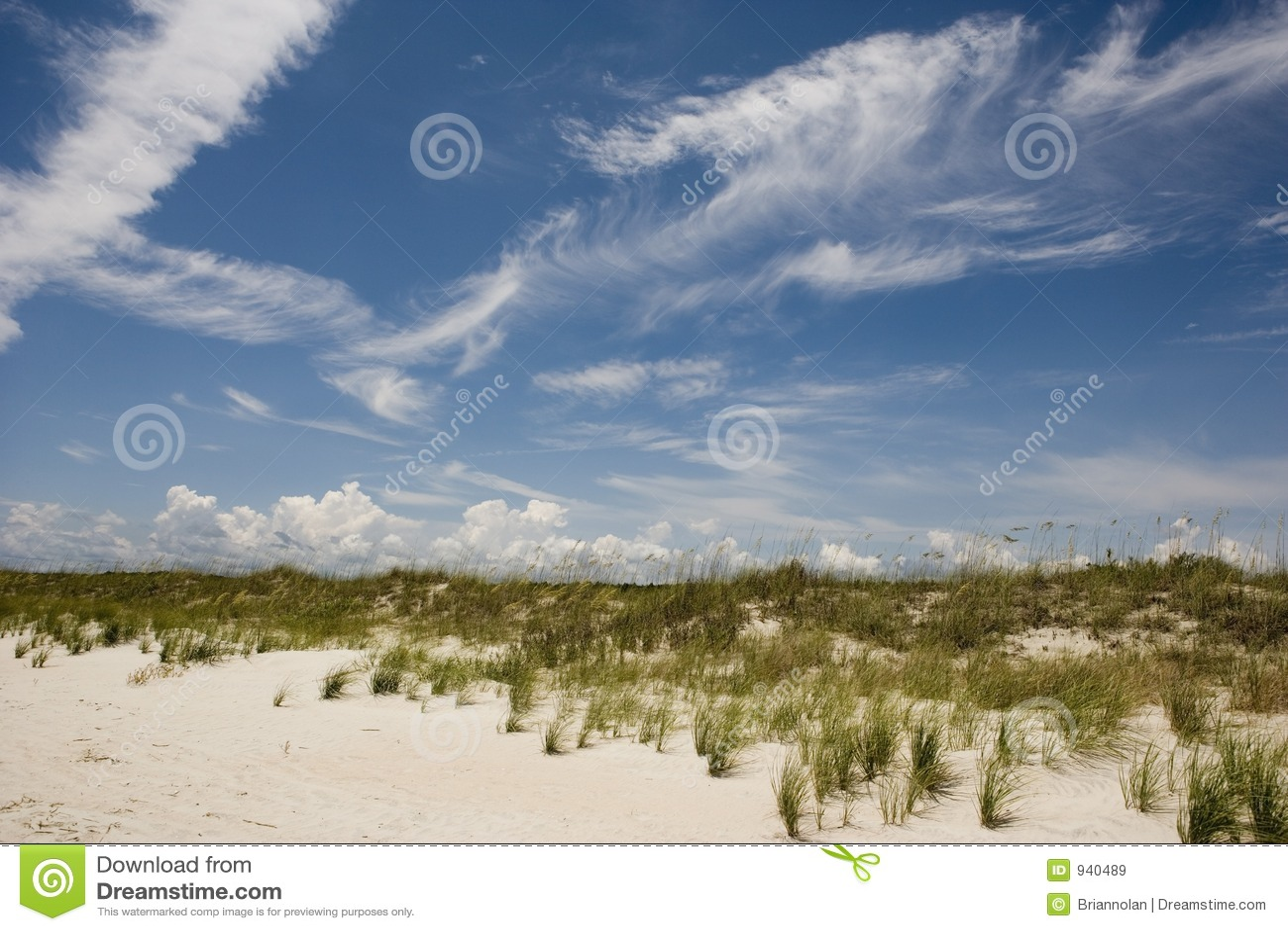 Cena da praia horizontal