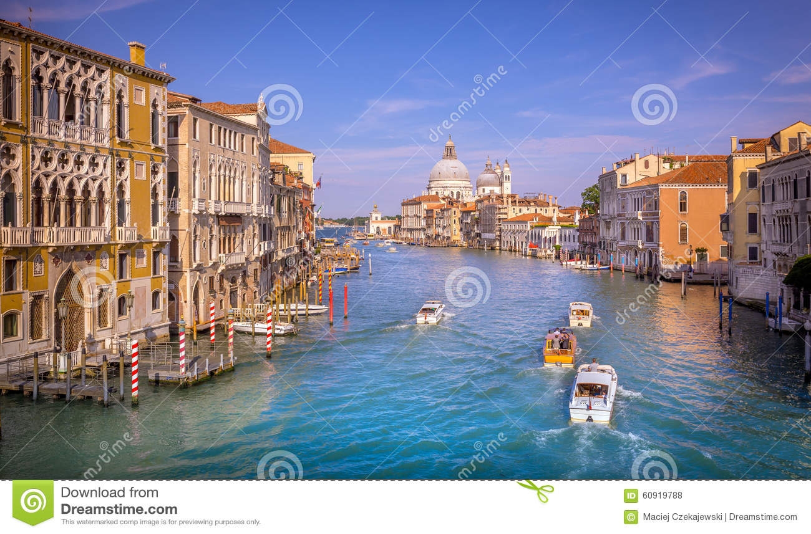 Cena de Grand Canal, Veneza