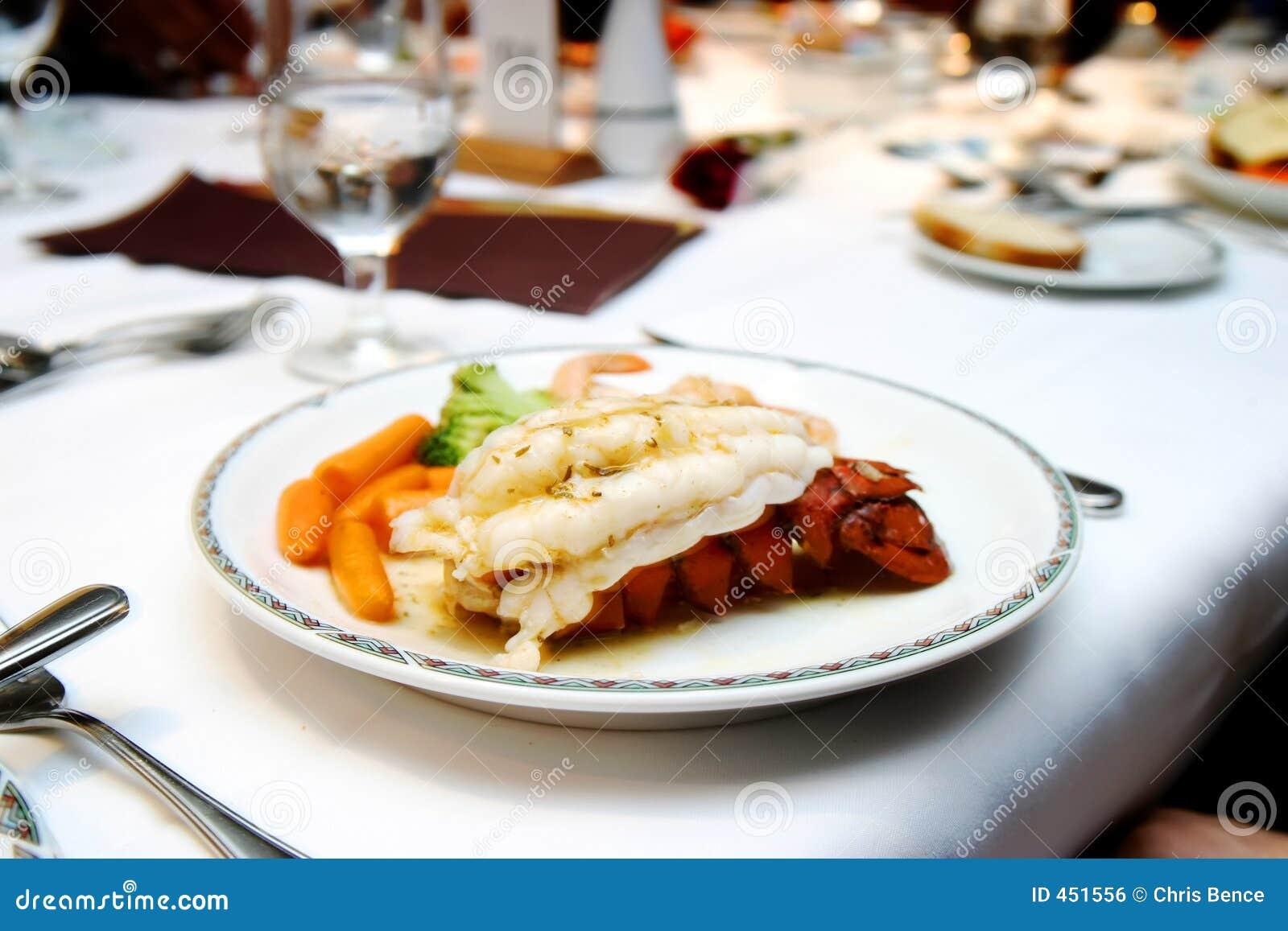 Cena de la langosta
