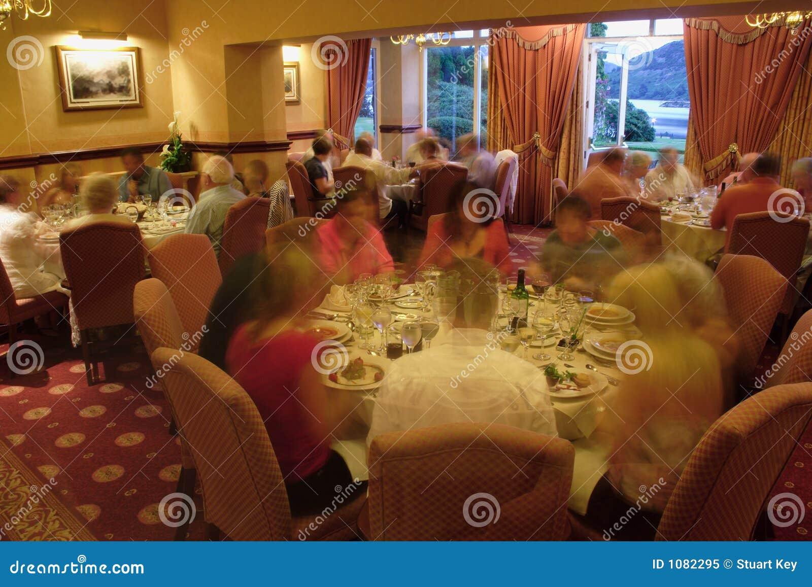 Cena del restaurante