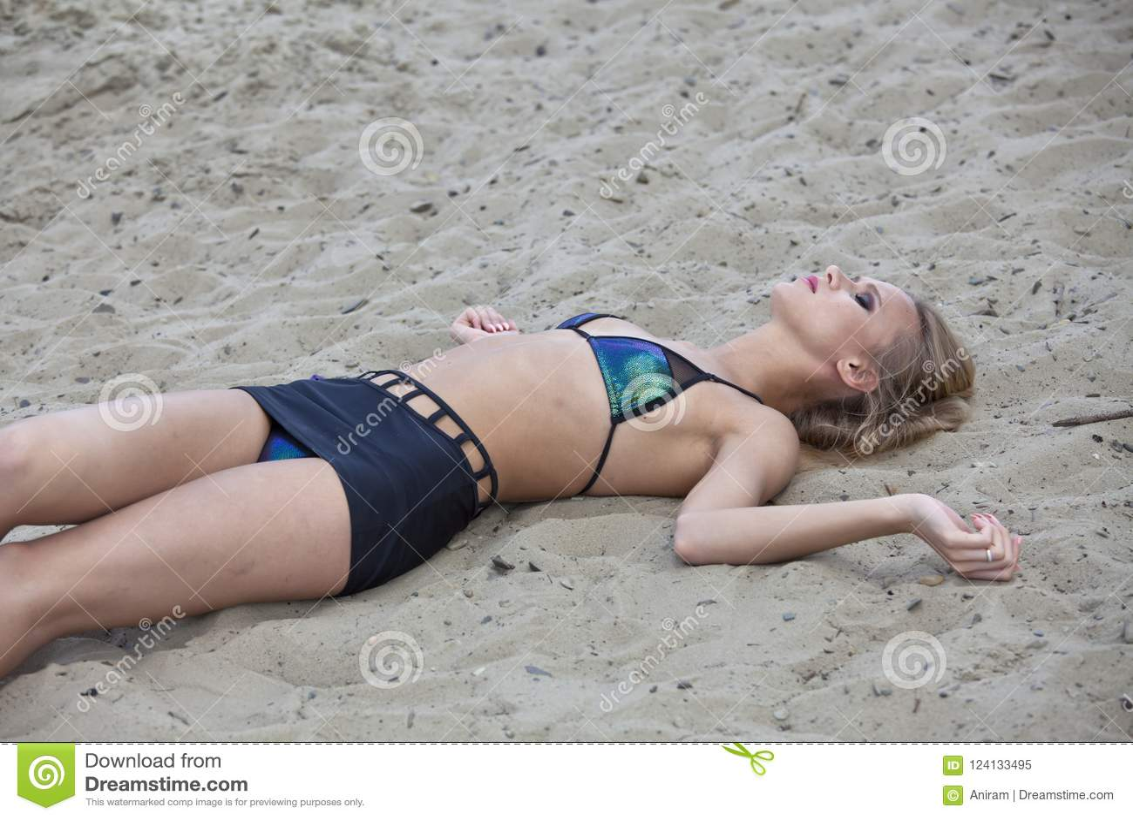 Cena do crime na praia