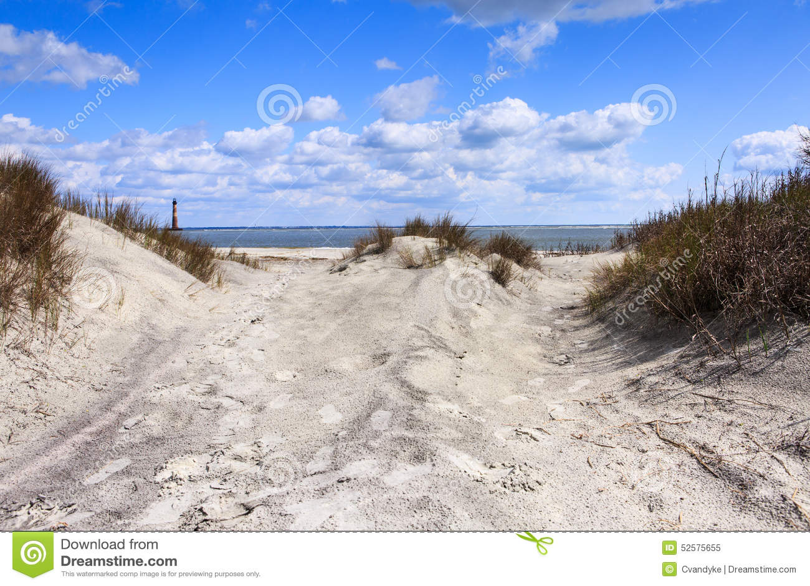 Cena litoral da praia