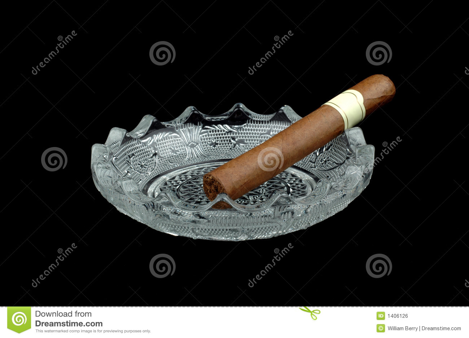 Cendrier du cigare n