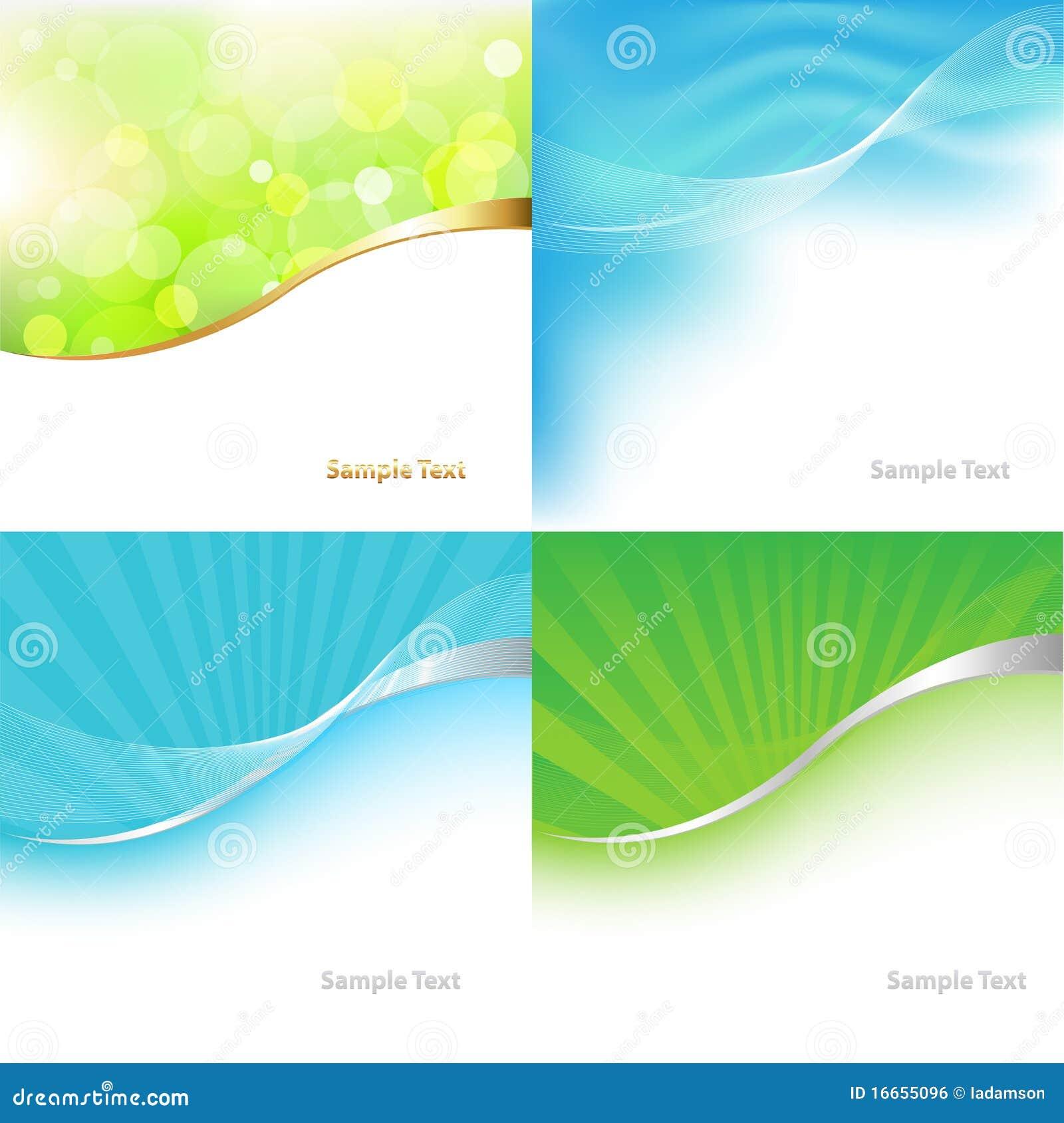 Cenni storici verdi e blu dell accumulazione. Vettore