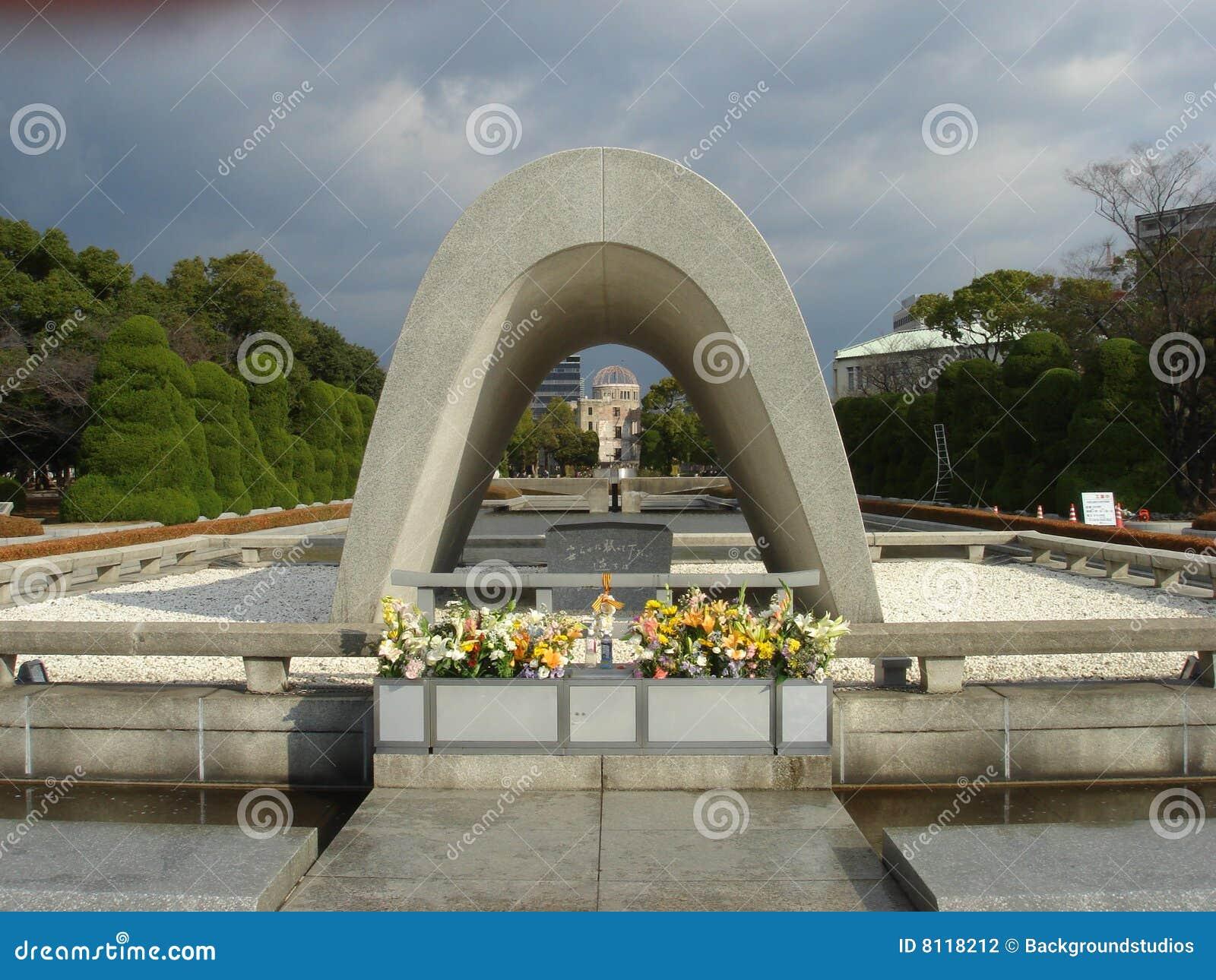 Cenotaph At Hiroshima Stock Photography - Image: 8118212