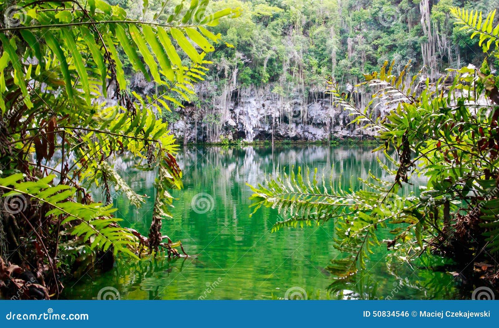 Cenote of Santo Domingo