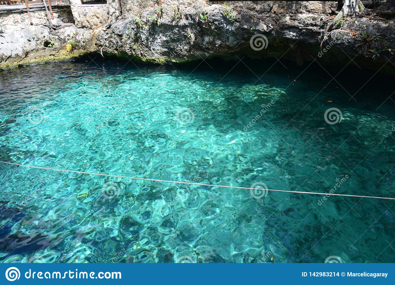 Cenote Zacil Ha dichtbij Tulum Mexico
