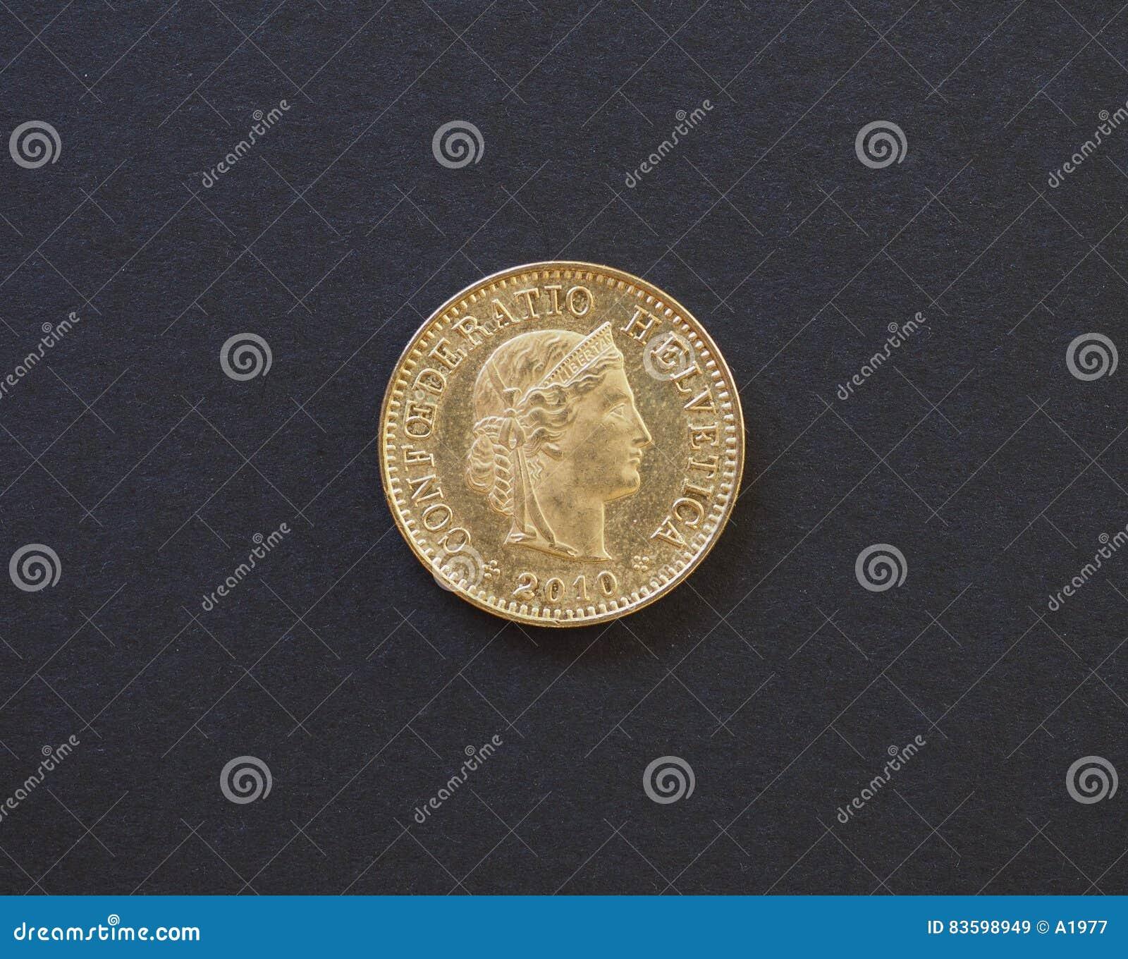 5 Cent Münze Die Schweiz Stockbild Bild Von Spend Switzerland