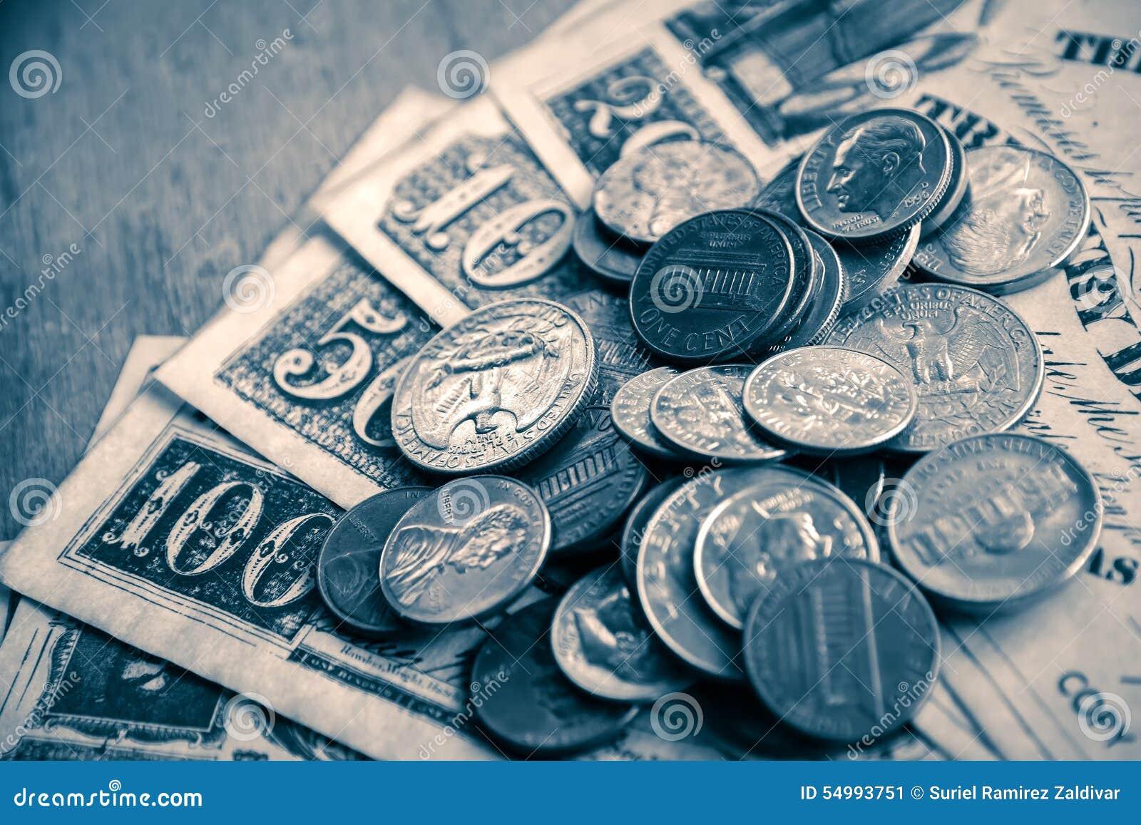 Cent och gamla räkningar