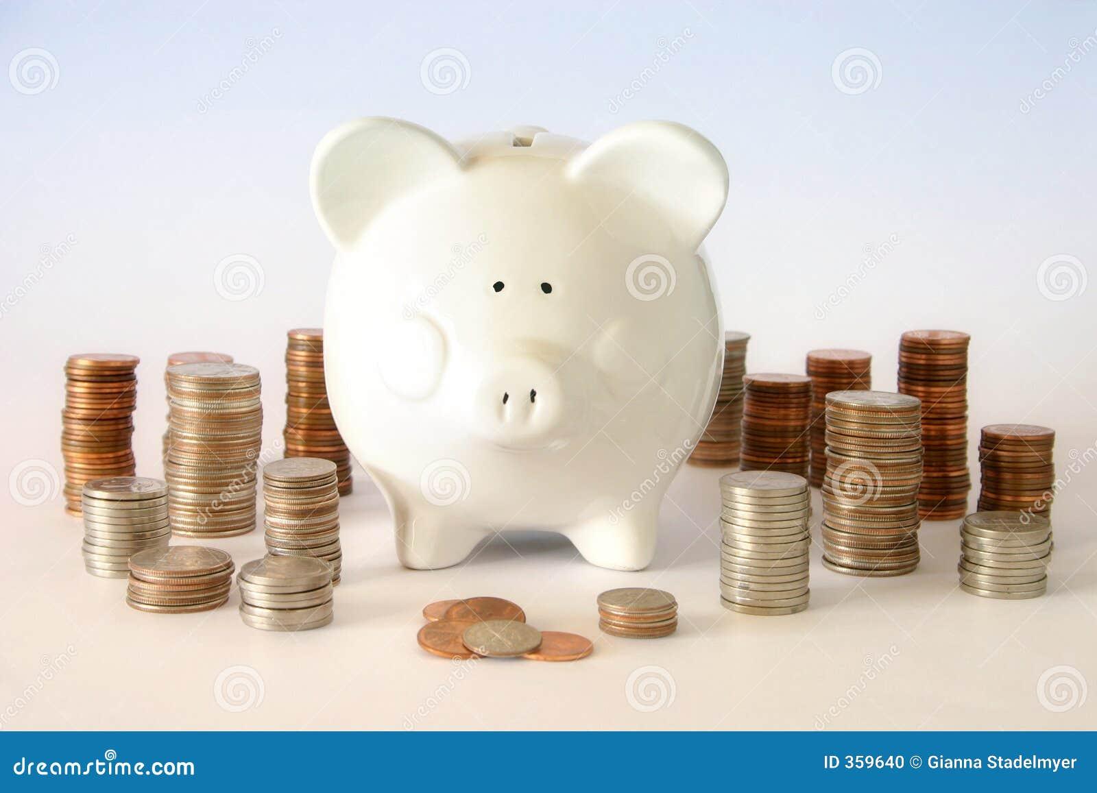 Centavos do dinheiro