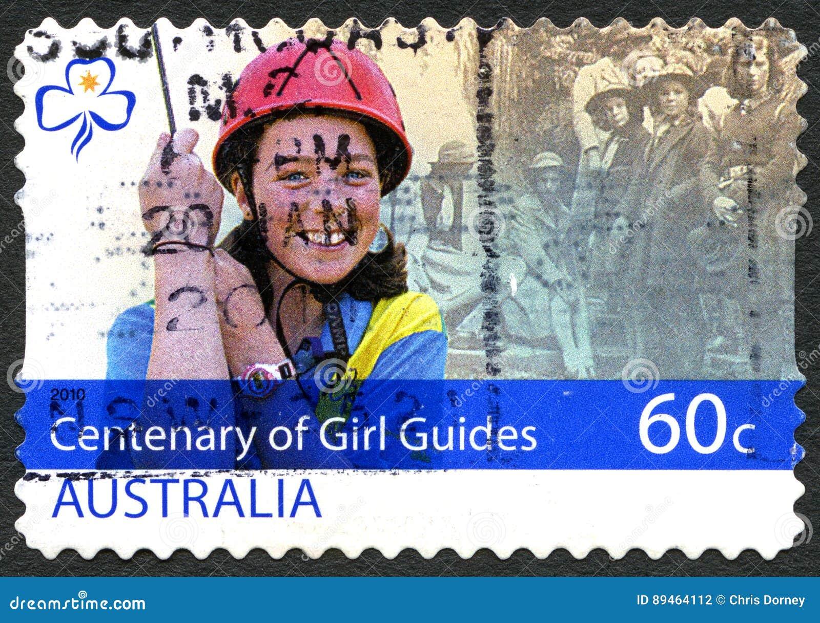 Centenary Of Girl Guides Australian Postage