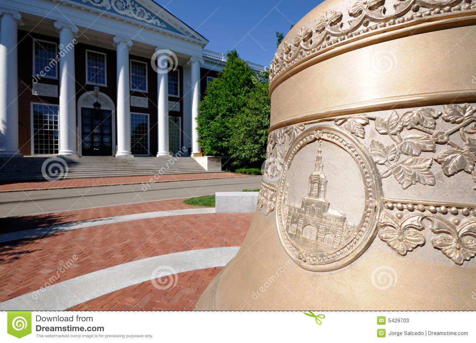 Centenial Bell at Harvard Business School
