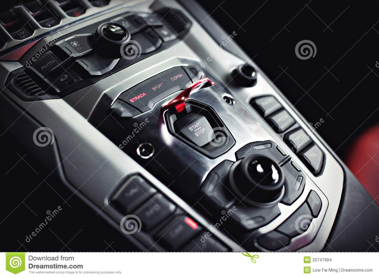 Center Console Stock Photo Image Of Dashboard Sport 20747994