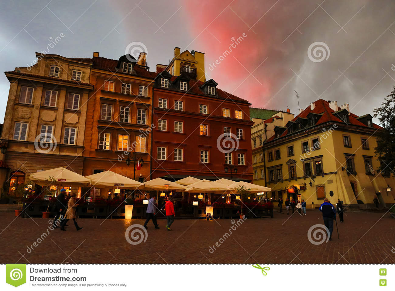 Center of Warsaw