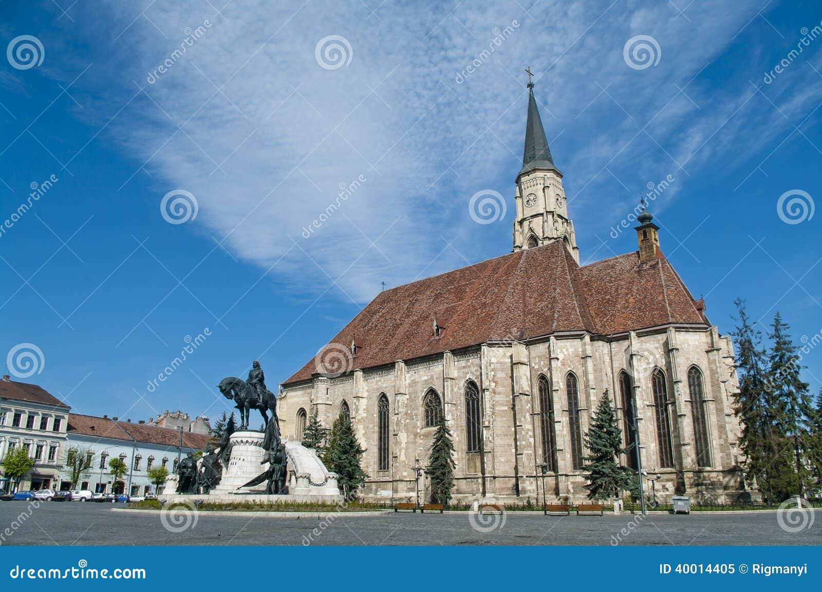 Centraal vierkant, Cluj Napoca, Roemenië