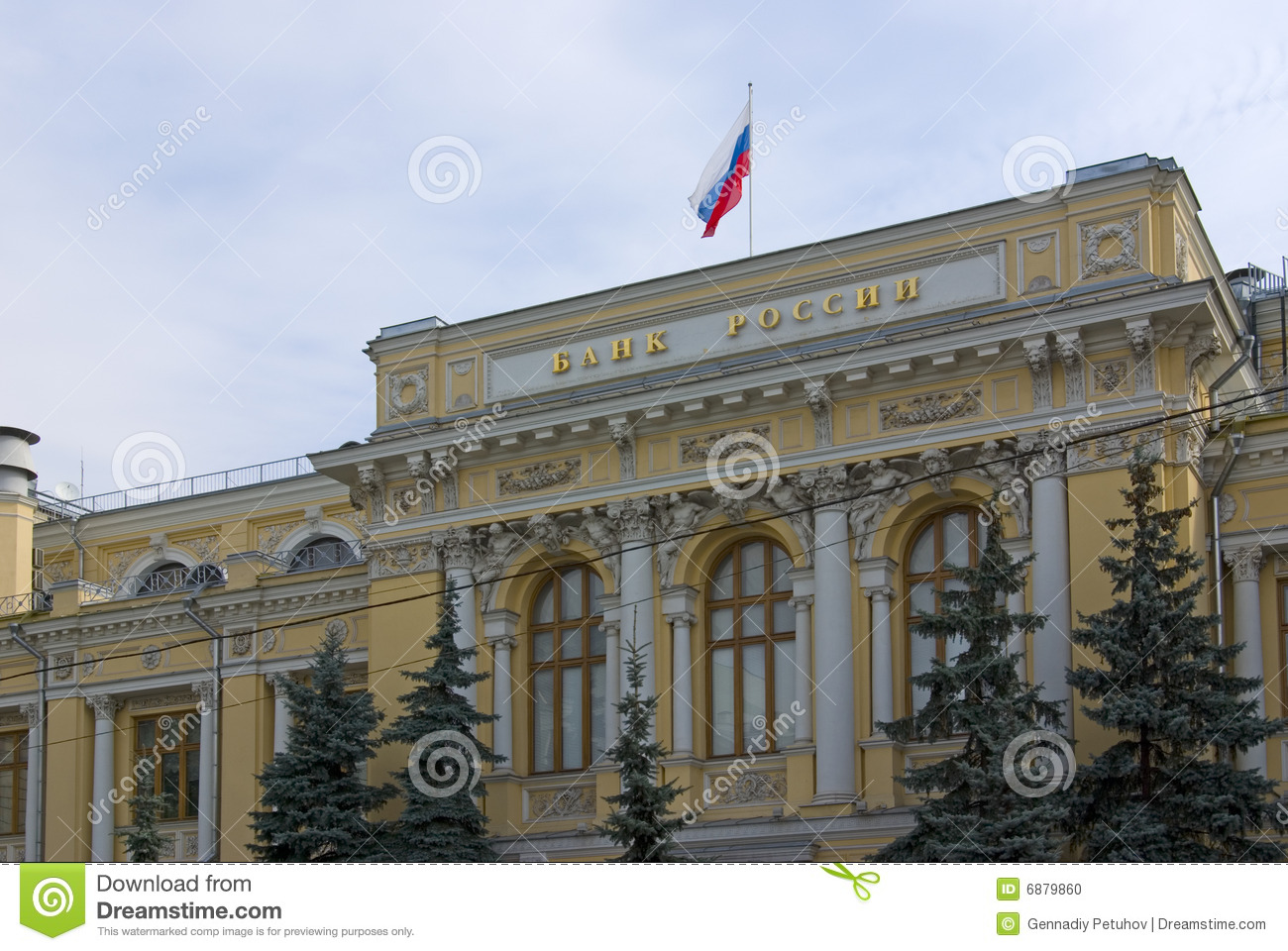 The central bank of russia - 66183