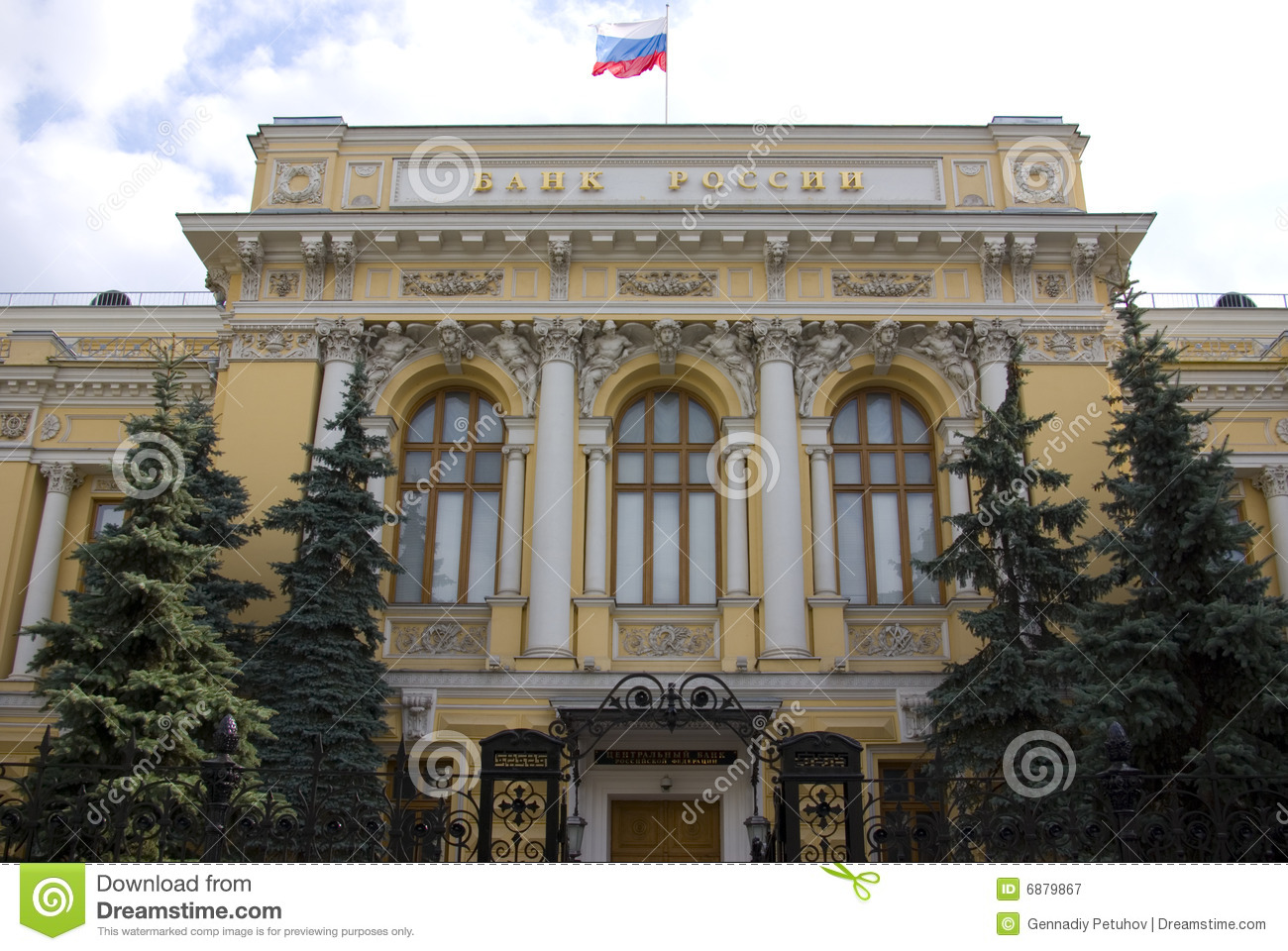 The central bank of russia - d0