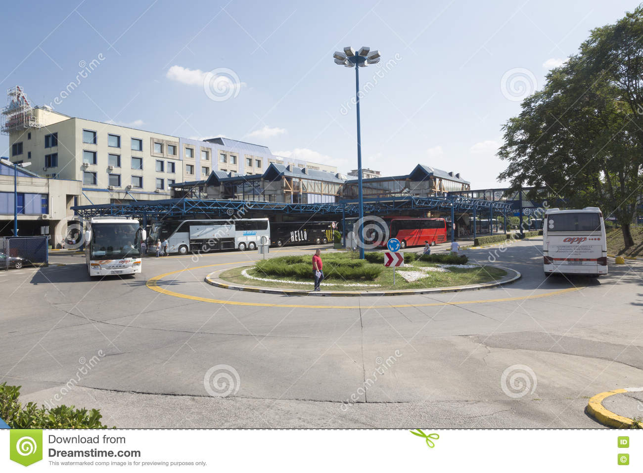 Central Bus Station In Zagreb Croatia Editorial Photo Image Of Congestion Located 76779486