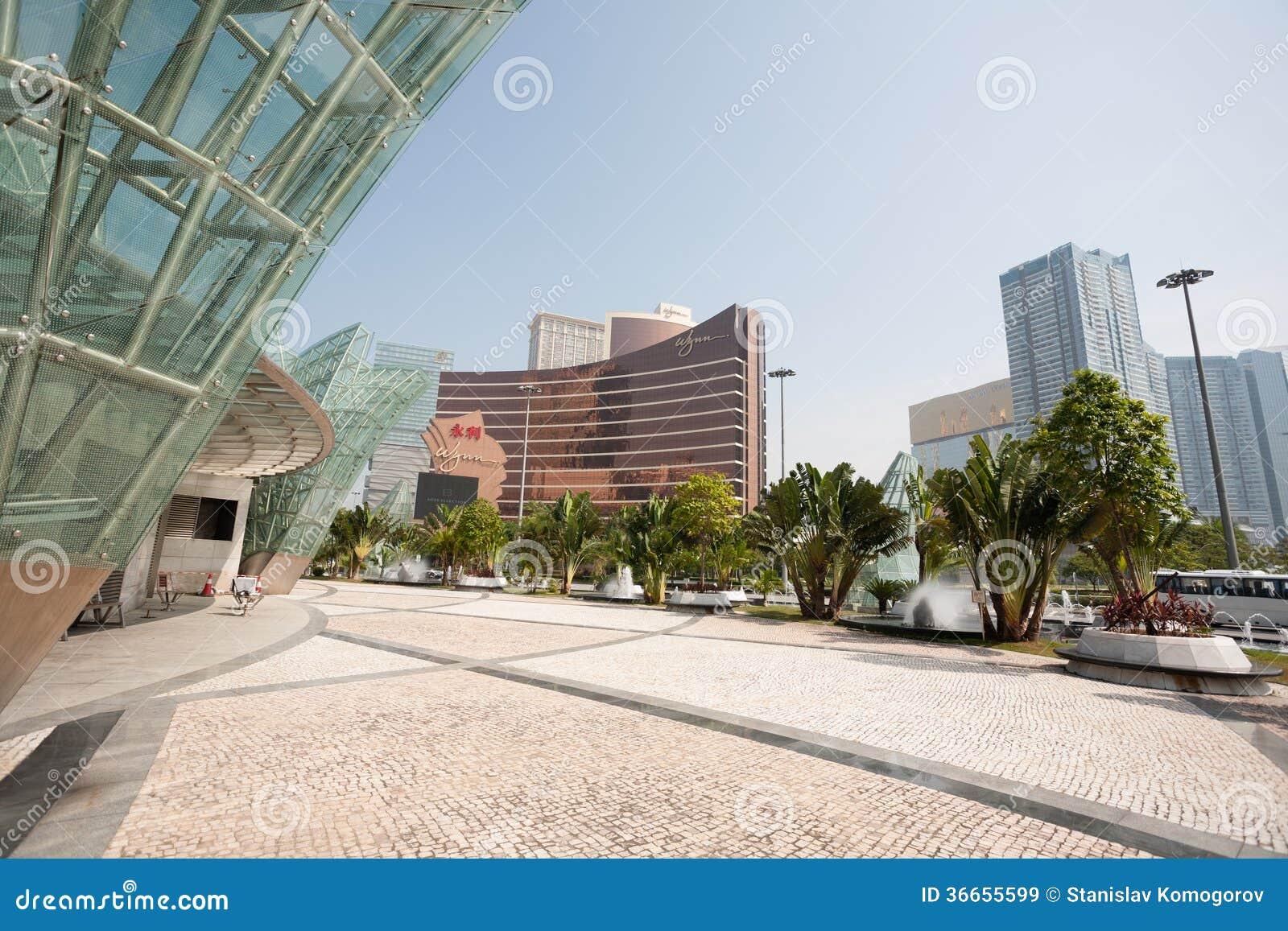 Central del av moderna Macao