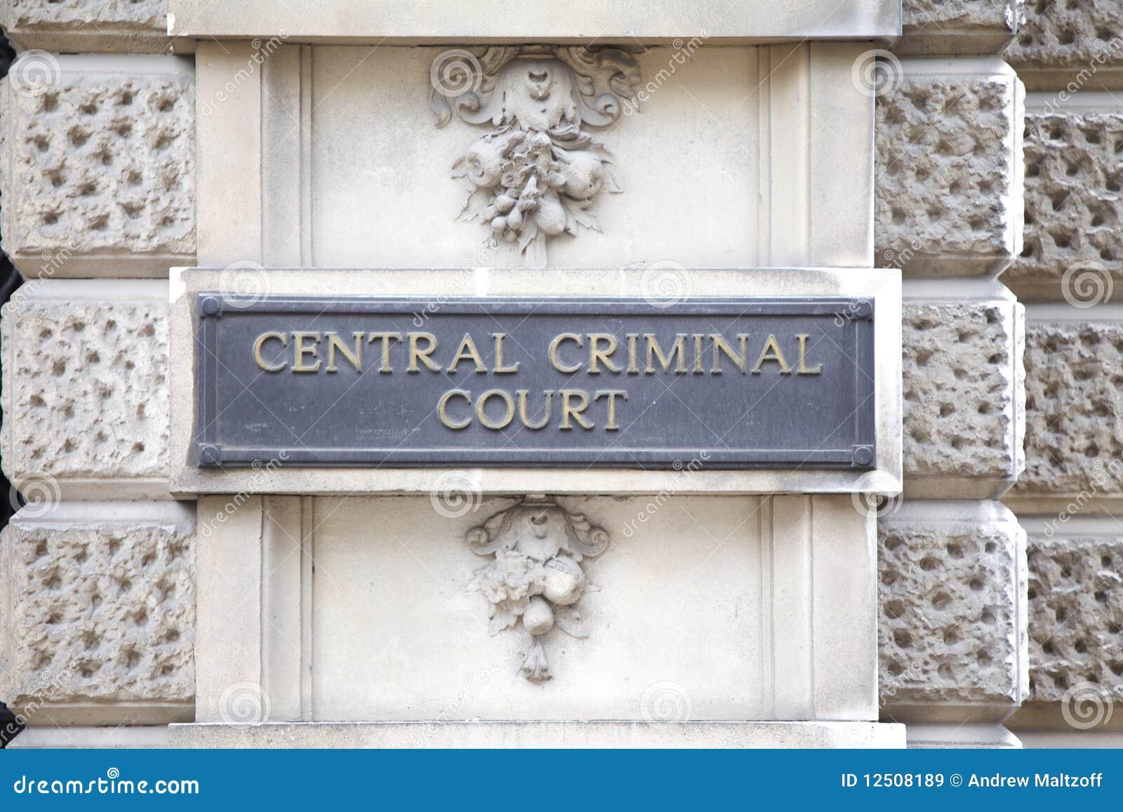 Central domstolbrottsling
