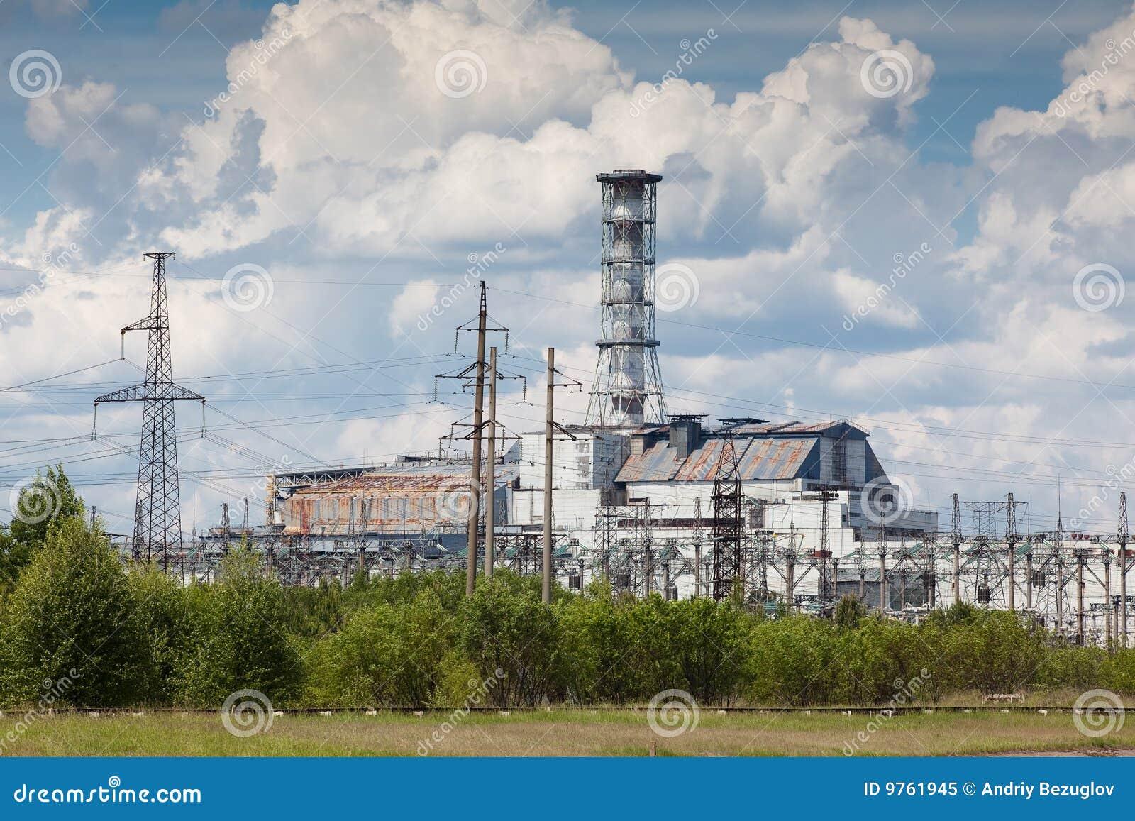 Central eléctrica de Chernobyl