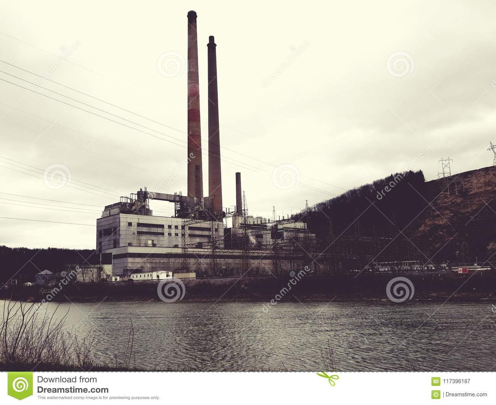 Central eléctrica del shawville