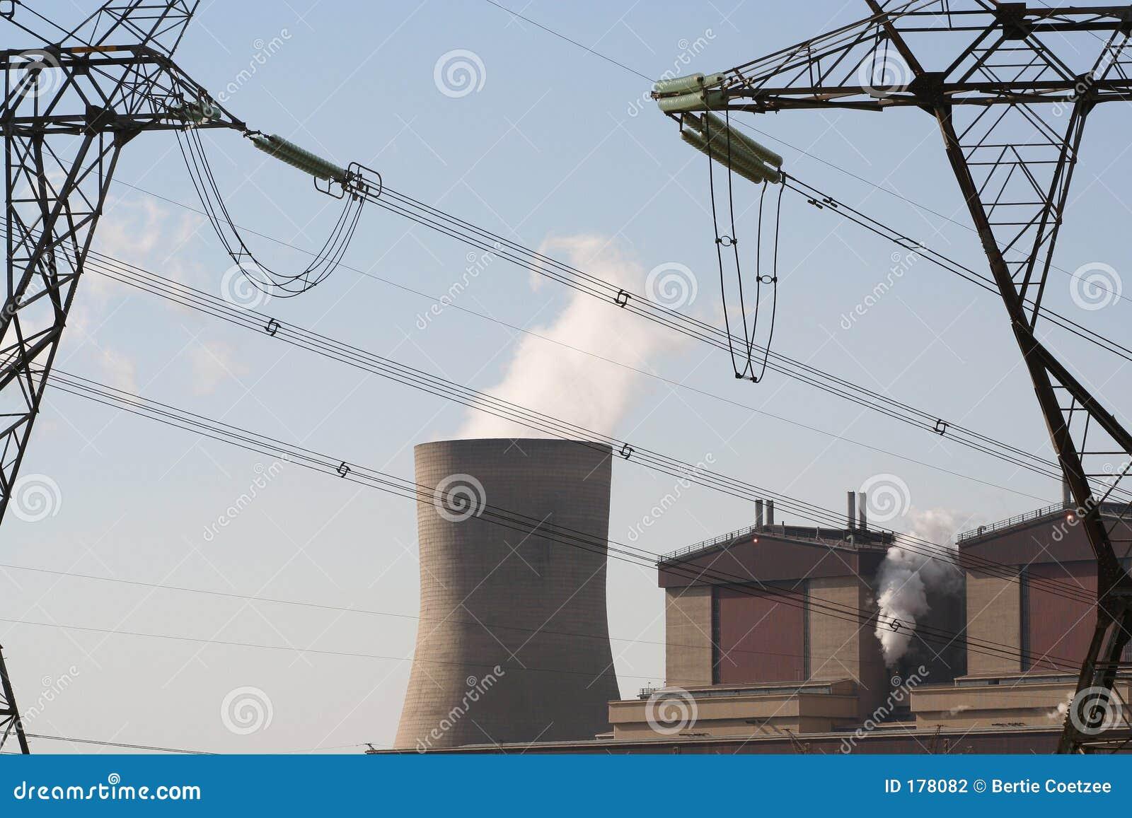 Central eléctrica industrial