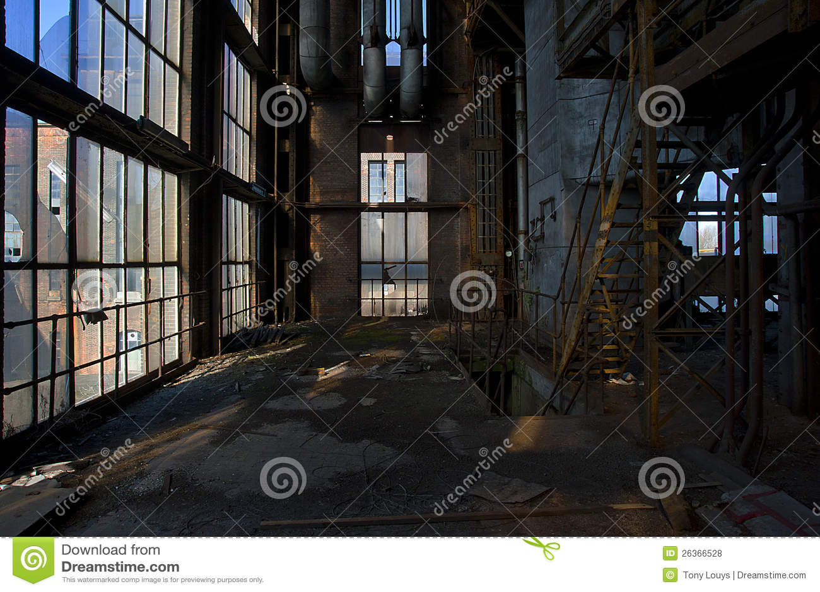 Central eléctrica vieja