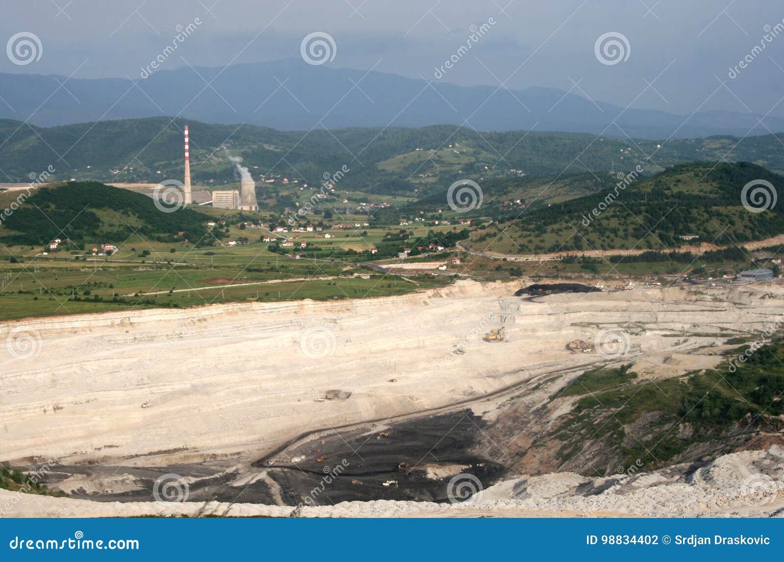 Central elétrica em Pljevlja
