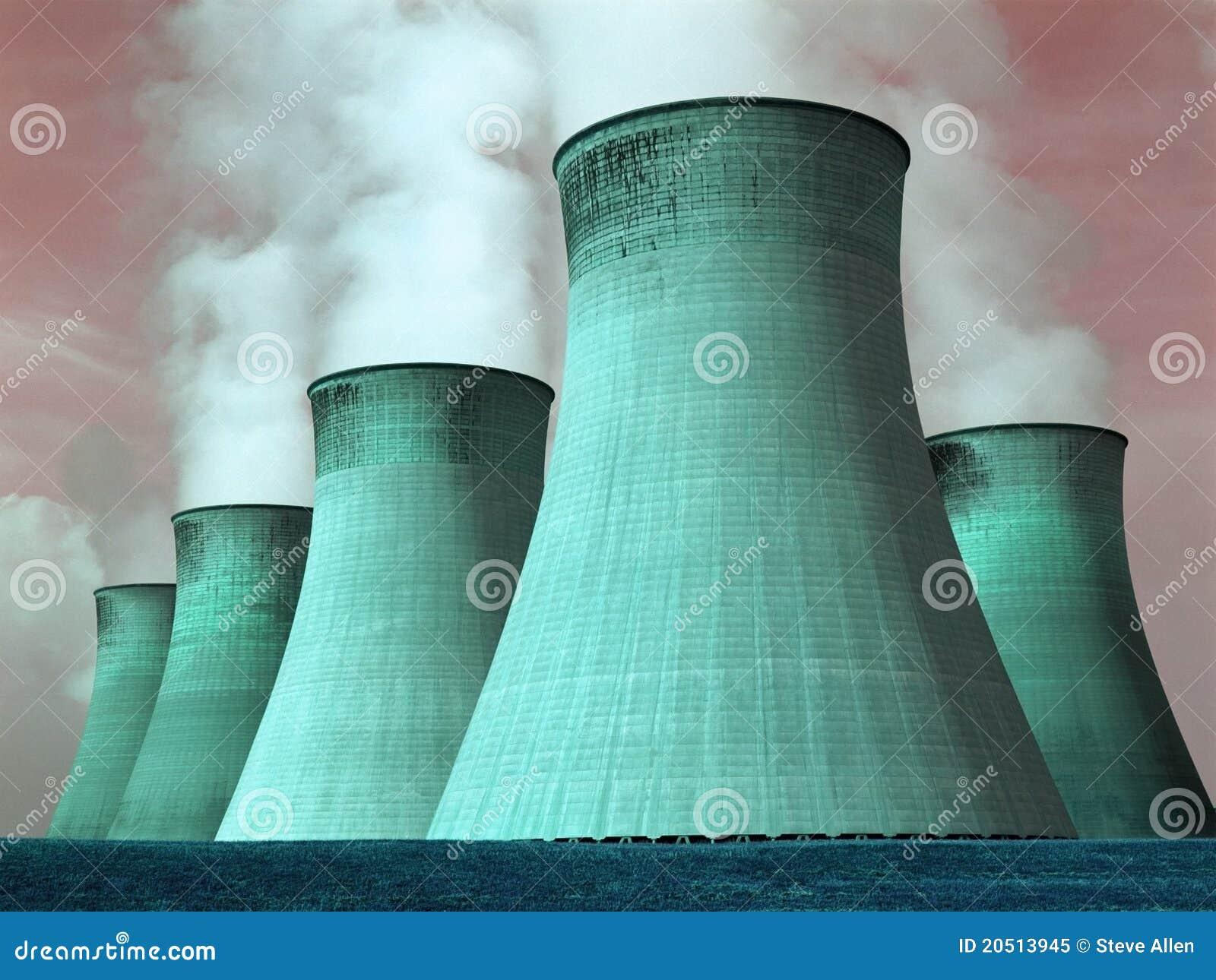 Central energética - poluição - ambiente