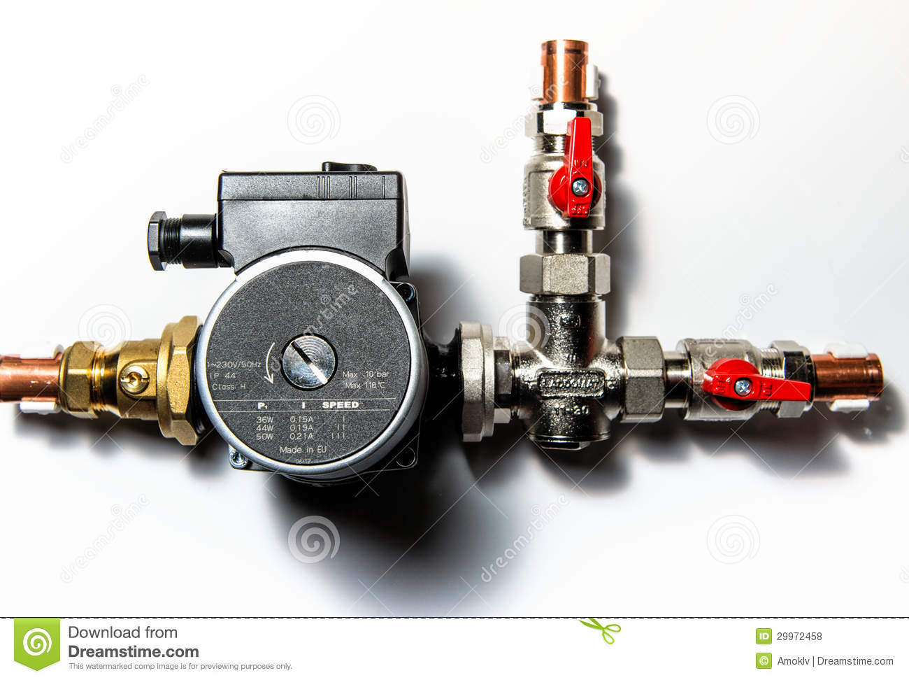 Central heating manifold